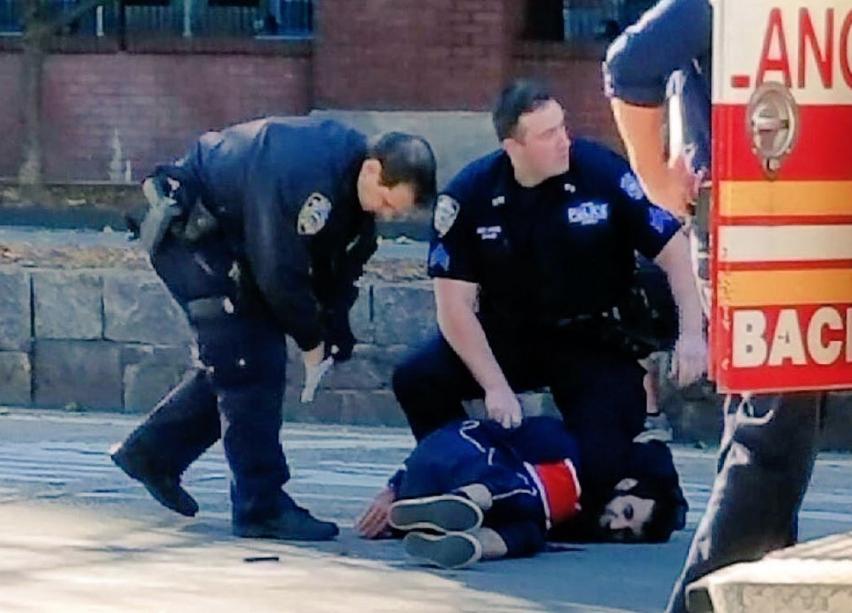 Полицейские ранили и арестовали террориста