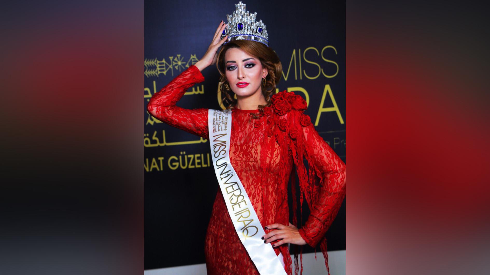 """<p><span>&nbsp;Сара Айдан будет представлять Ирак на конкурсе """"Мисс Вселенная"""".&nbsp;</span></p>"""
