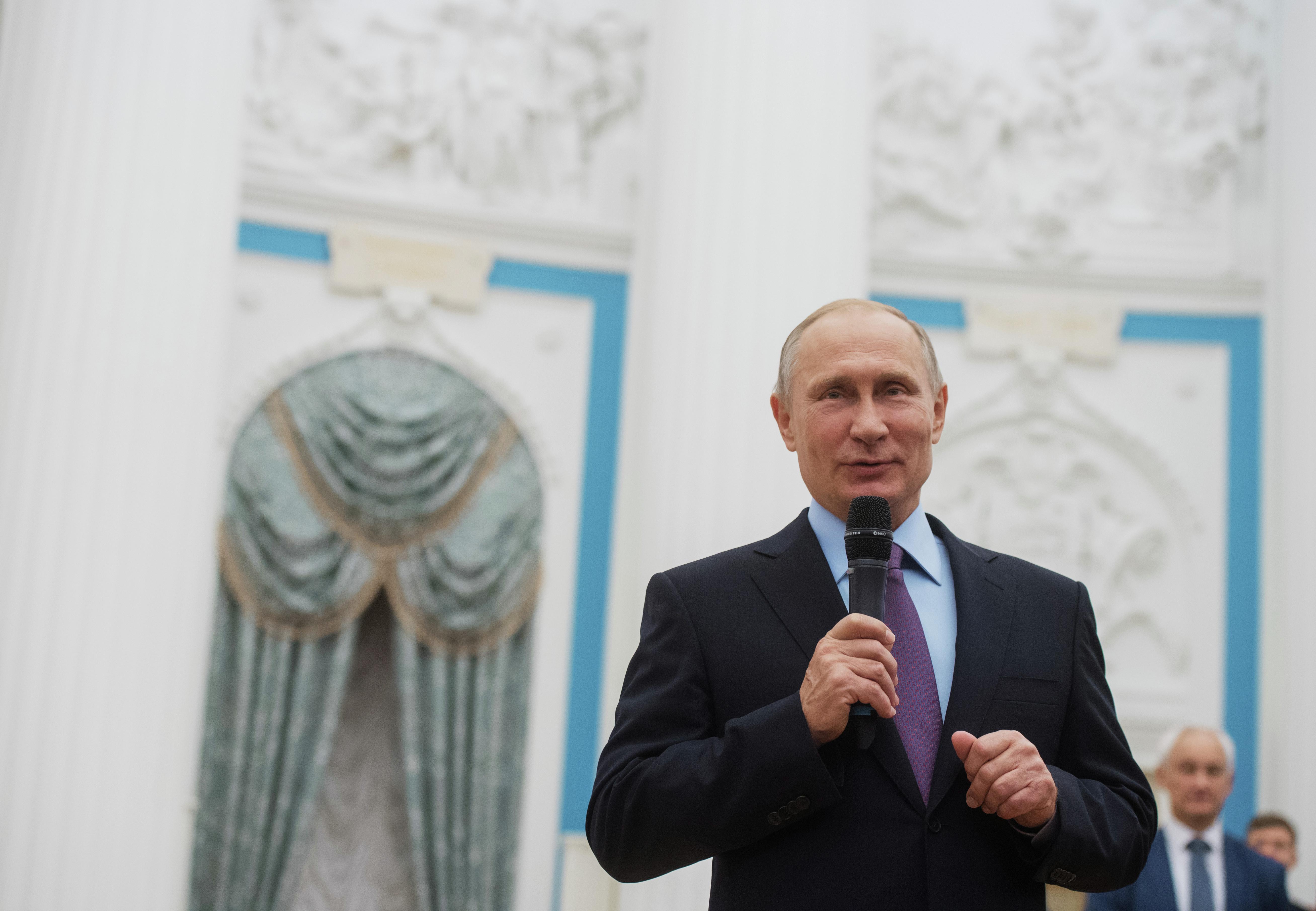 <p>Президент РФ Владимир Путин. Фото: &copy;РИА Новости/Сергей Гунеев</p>