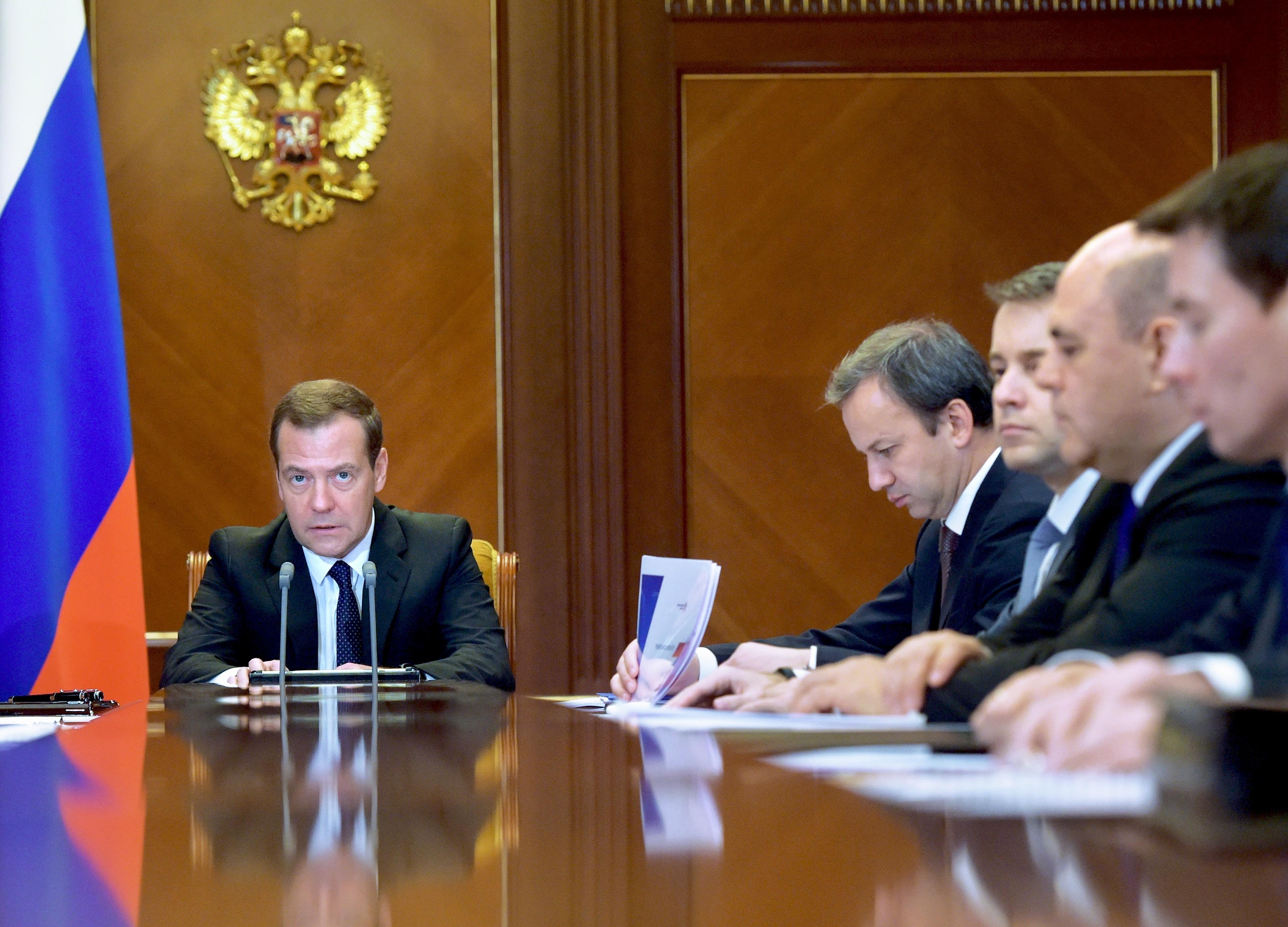 <p><span>Председатель правительства РФ Дмитрий Медведев.&nbsp;</span>Фото: &copy;РИА Новости/Александр Астафьев</p>