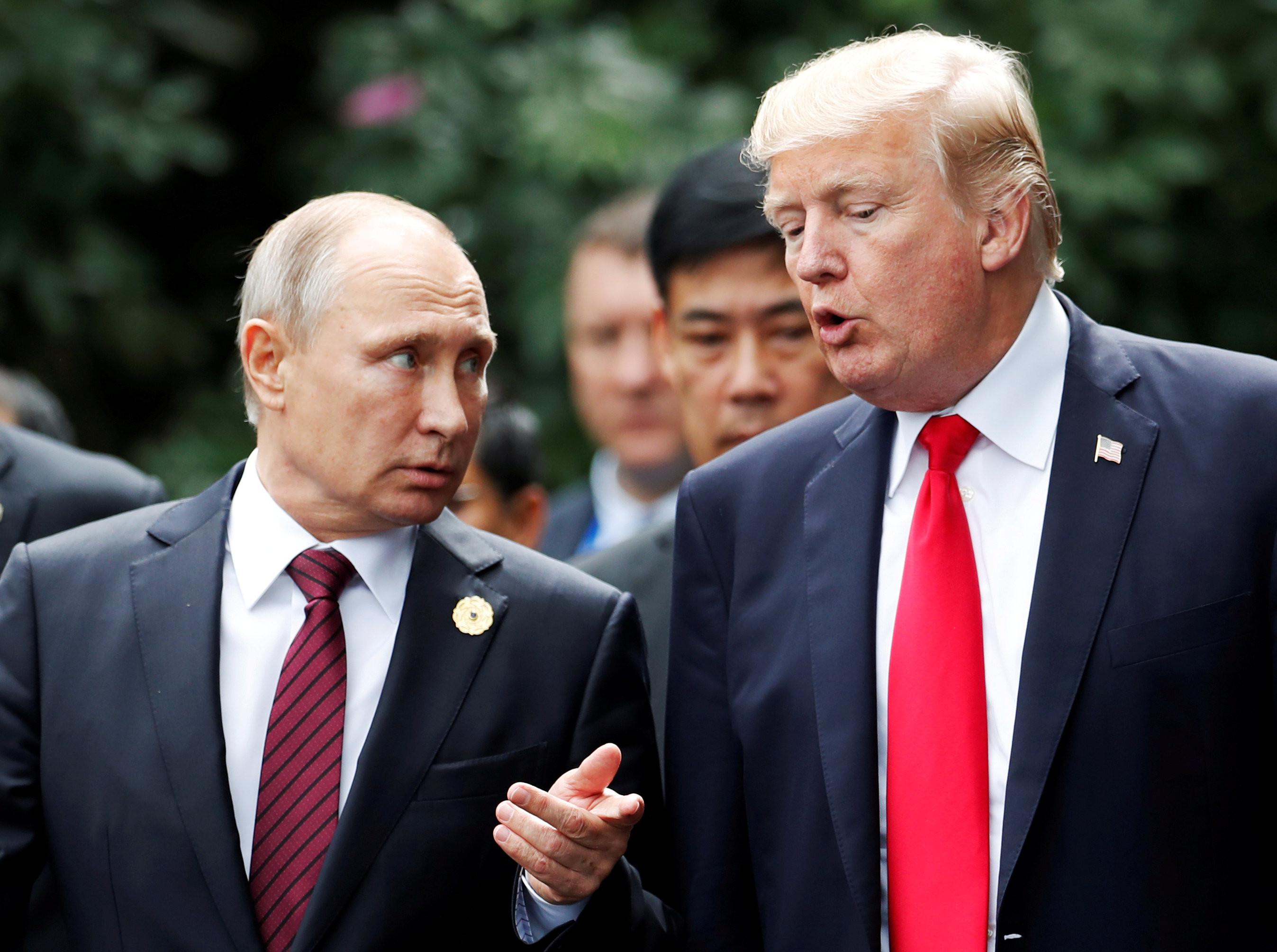 <p><span>Президент России Владимир Путин и президент США Дональд Трамп. Фото: &copy;REUTERS</span>/Jorge Silva</p>