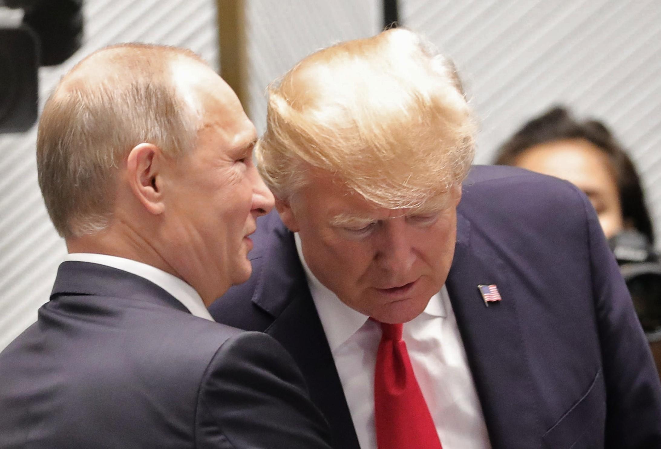 <p><span>Президент России Дональд Трамп и президент США Дональд Трамп. Фото: &copy;РИА Новости/</span>Михаил Климентьев</p>