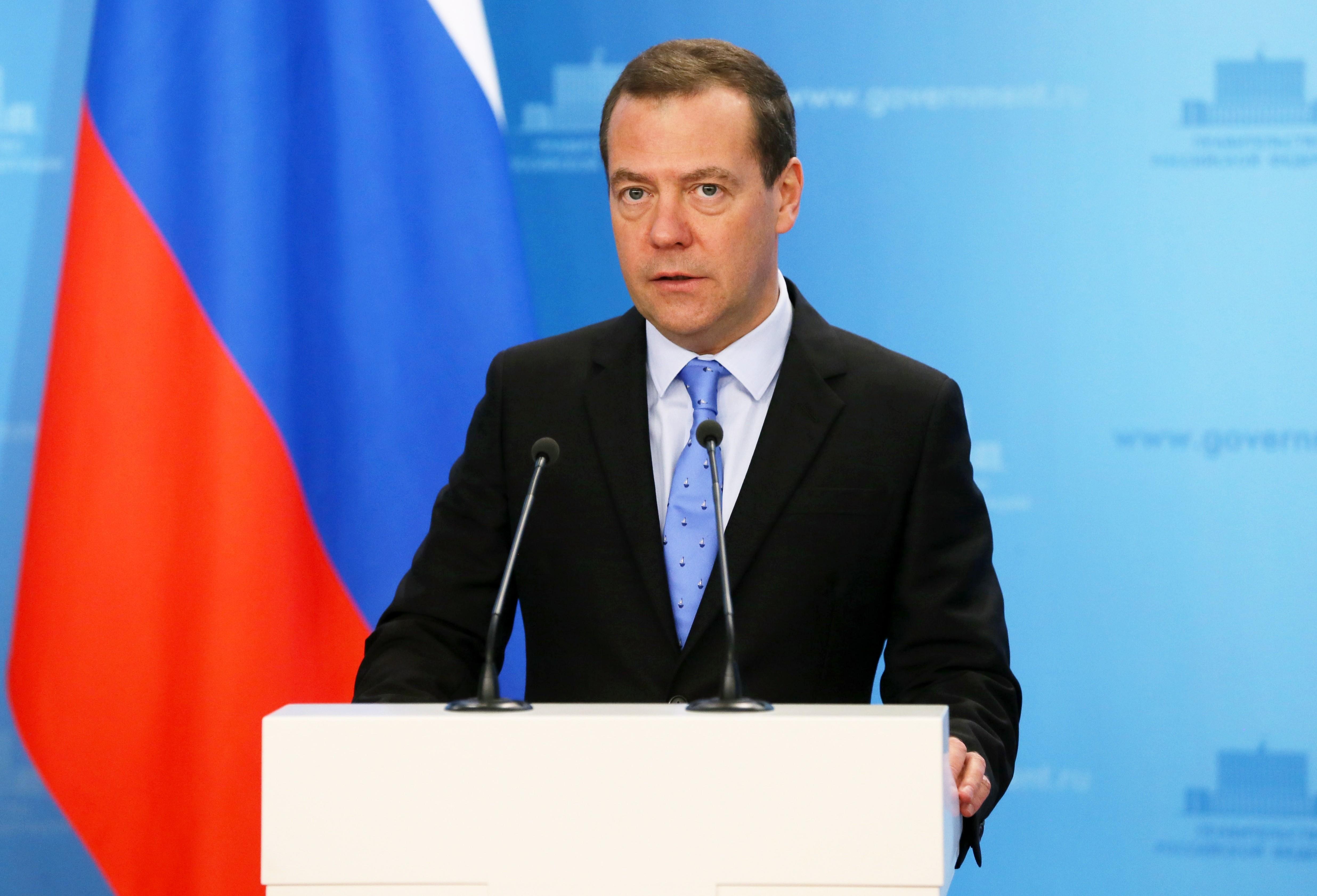 <p><span>Премьер-министр РФ Дмитрий Медведев. Фото: &copy;РИА Новости/</span>Екатерина Штукина</p>