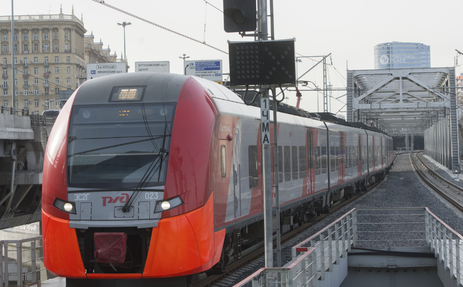 <p><span>Поезд МЦК. Фото: &copy; РИА Новости/Алексей Куденко</span></p>