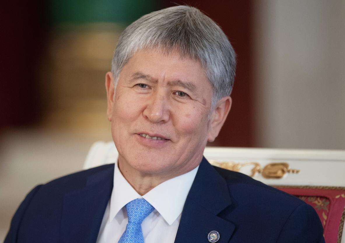 Президент Киргизии Алмазбек Атамбаев. Фото: © РИА Новости/Сергей Гунеев