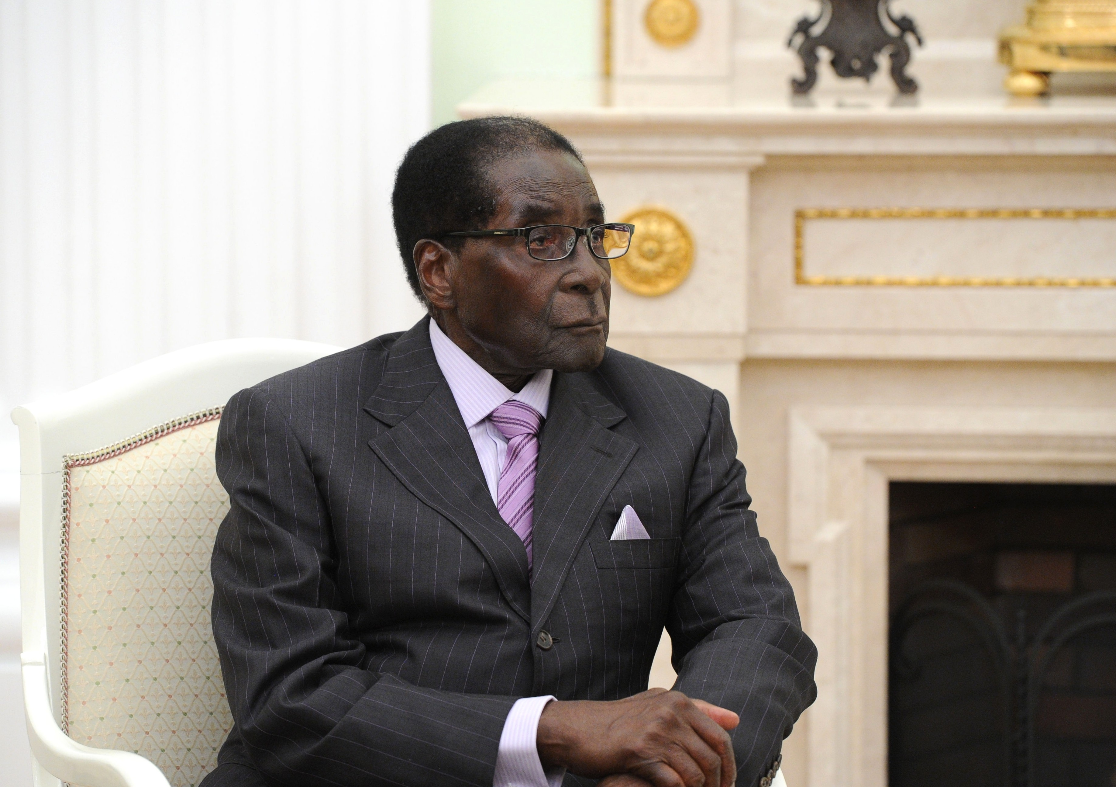 <p>Президент Республики Зимбабве Роберт Мугабе. Фото: &copy; РИА Новости/Михаил Климентьев</p>