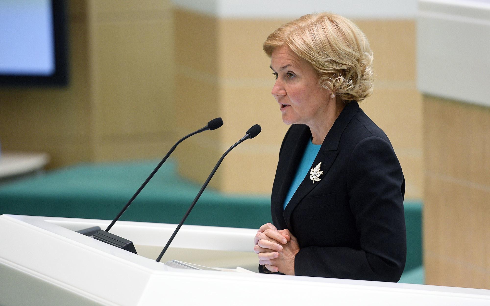 Вице-премьер Ольга Голодец. Фото: © РИА Новости / Владимир Астапкович