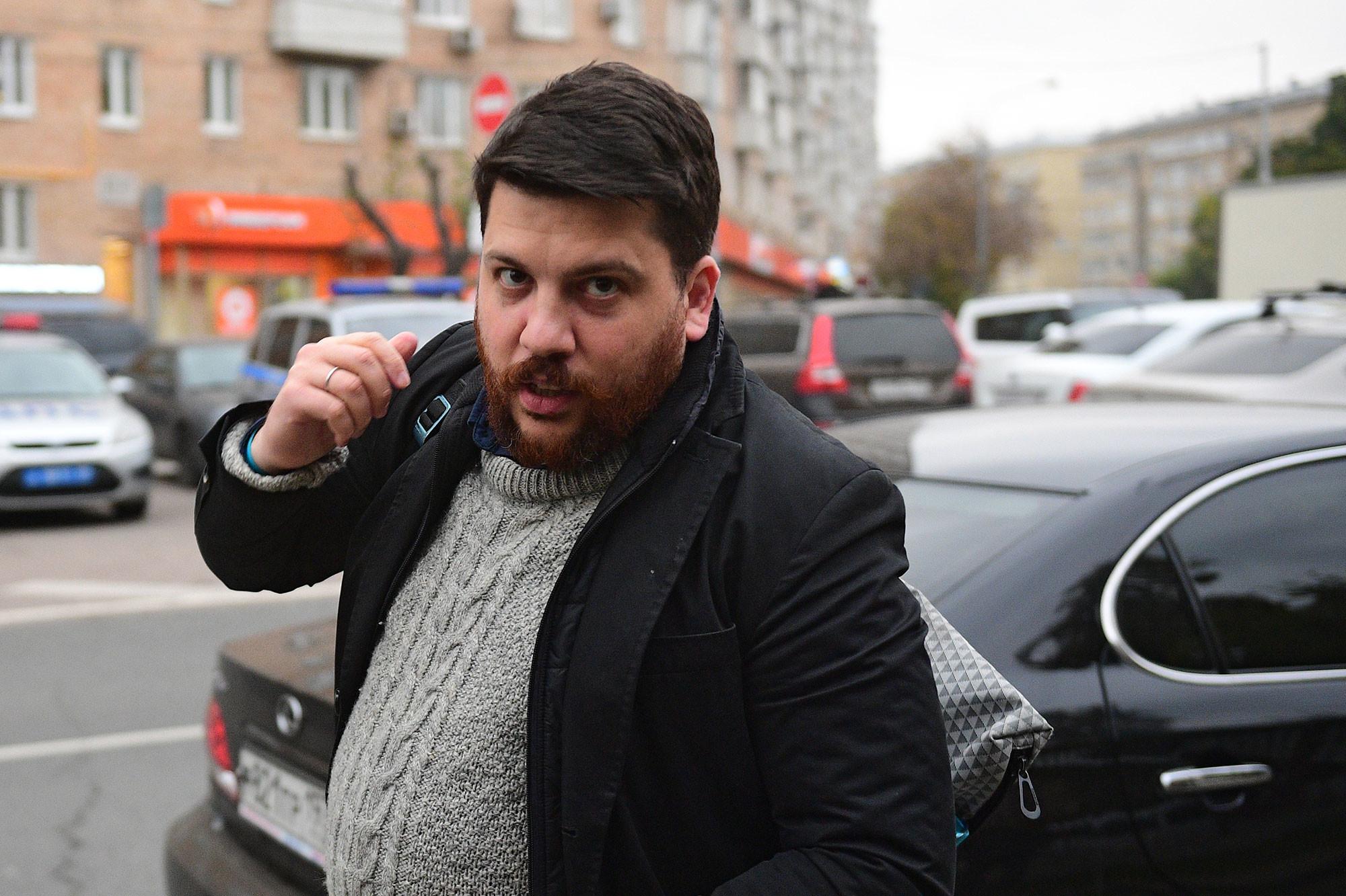 Начальник предвыборного штаба Леонид Волков. Фото: © РИА Новости / Евгений Одиноков