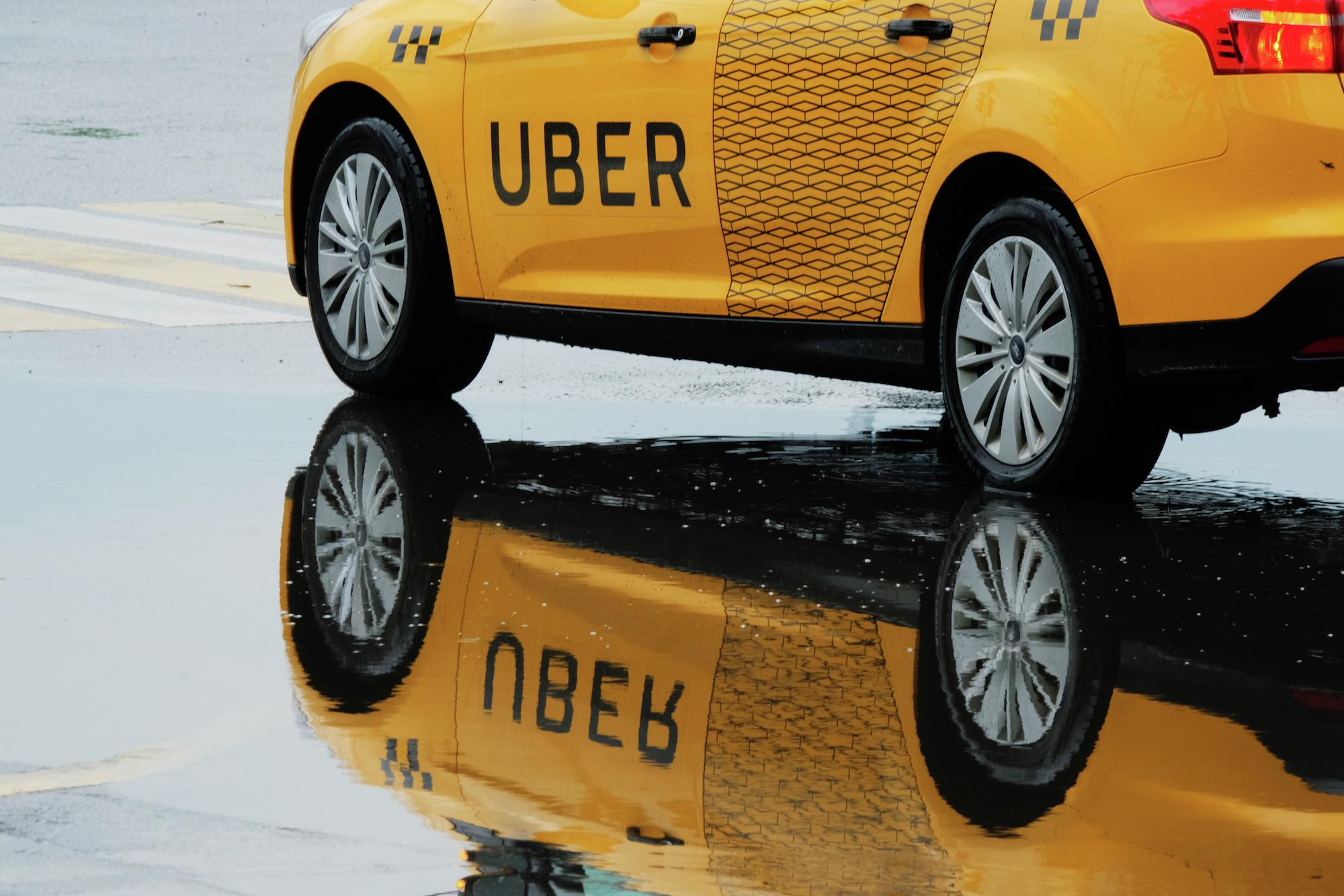 <p><span>Автомобиль службы такси Uber на улице Москвы.&nbsp;Фото: &copy; РИА Новости/Наталья Селиверстова</span></p>