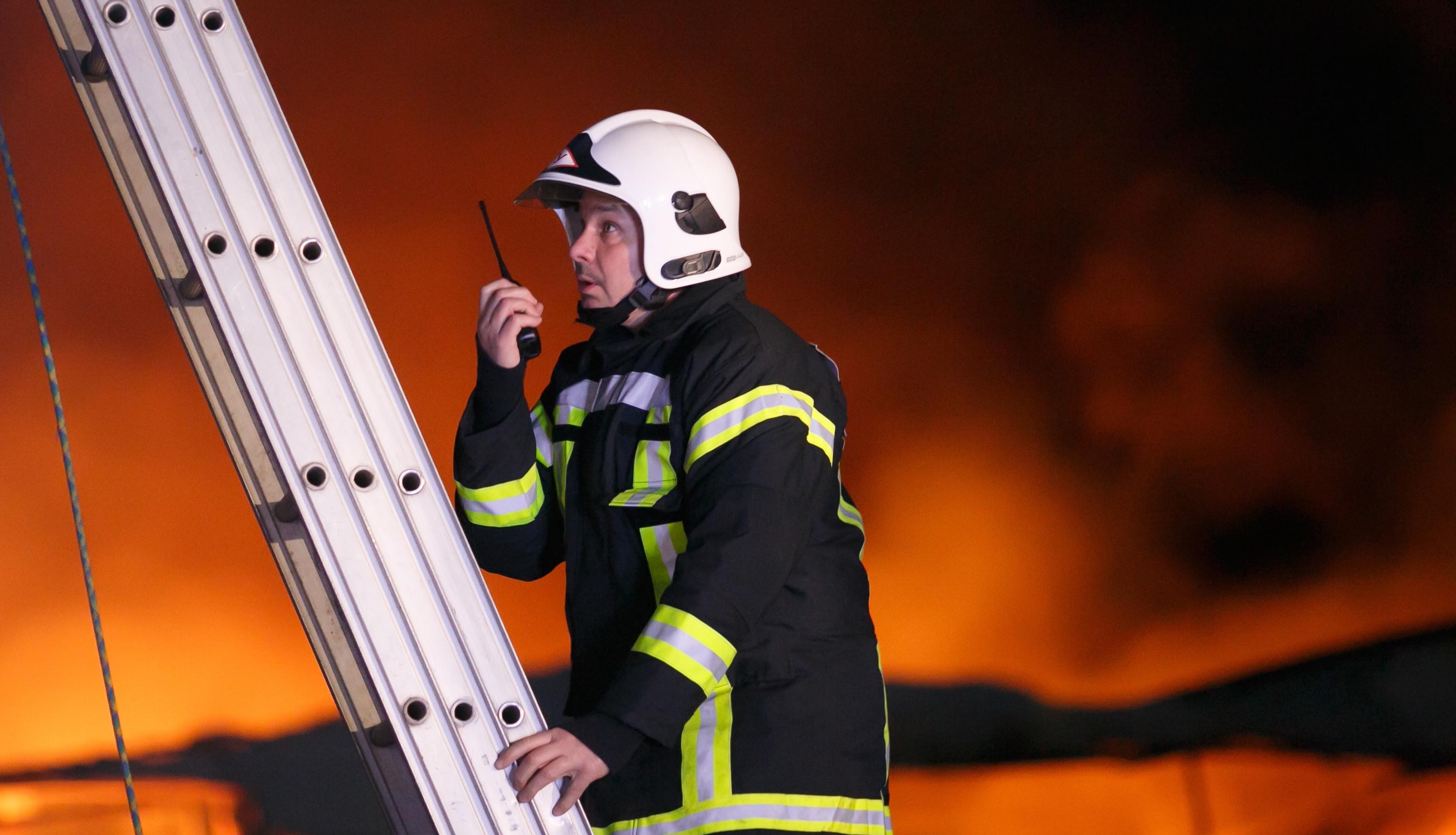 <p><span>Сотрудник противопожарной службы. Фото: &copy; РИА Новости/Кирилл Брага</span></p>