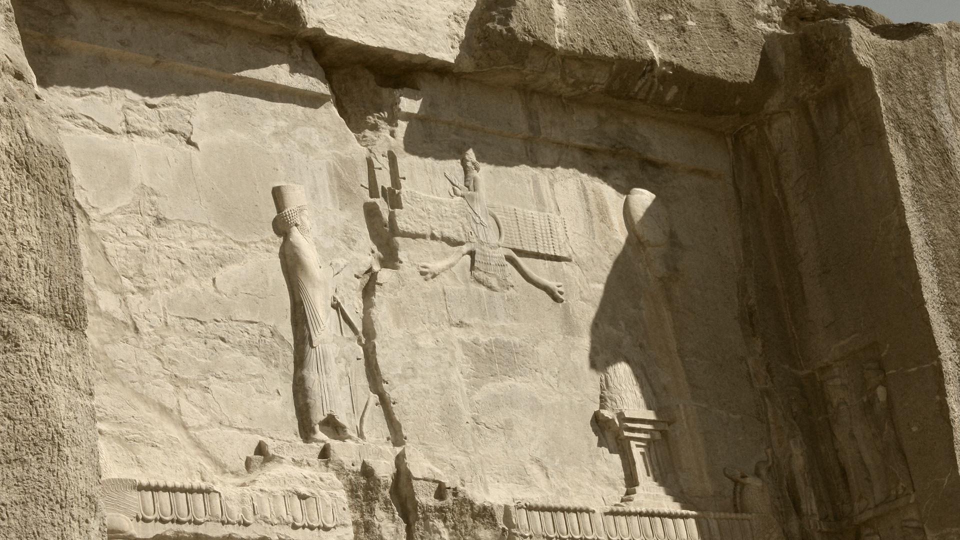 Гробница Артаксеркса II в Персеполисе. Фото: © wikipedia.org