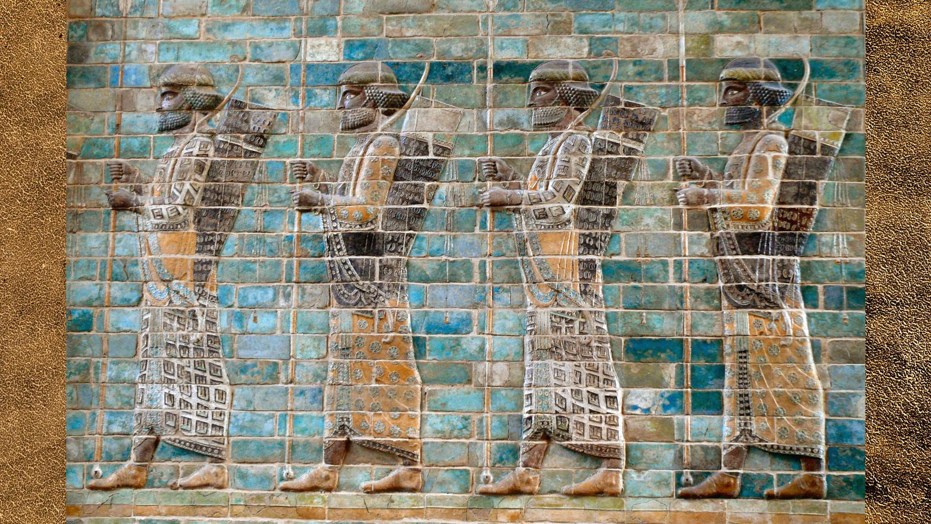 Персидские воины. Фото: © flickr/dynamosquito