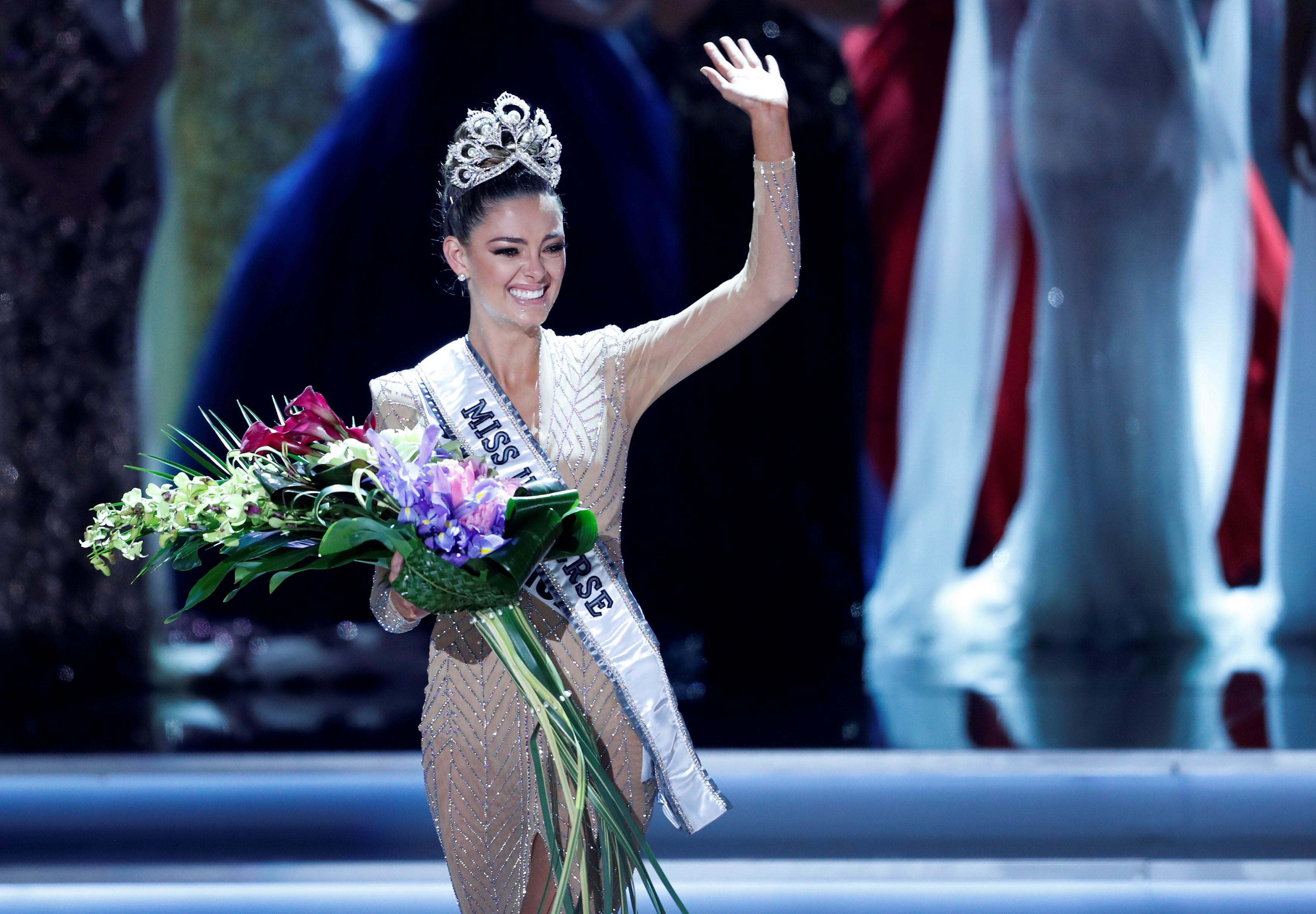"<p>Победительница ""Мисс Вселенная-2017"". Фото: &copy; REUTERS/Steve Marcus</p>"