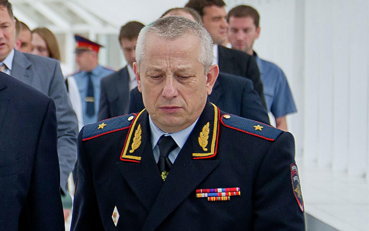 Генерал МВД РФ Алексей Лаушкин. Фото: © РИА Новости/Евгений Самарин