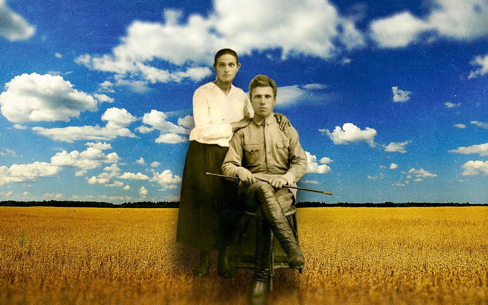 Родители патриарха Филарета, 1920-е гг. Коллаж © L!FE Фото: © Wikipedia.org