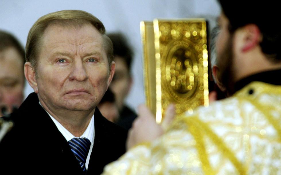Леонид Кучма, 2004 год. Фото: © ASSOCIATED PRESS/FOTOLINK