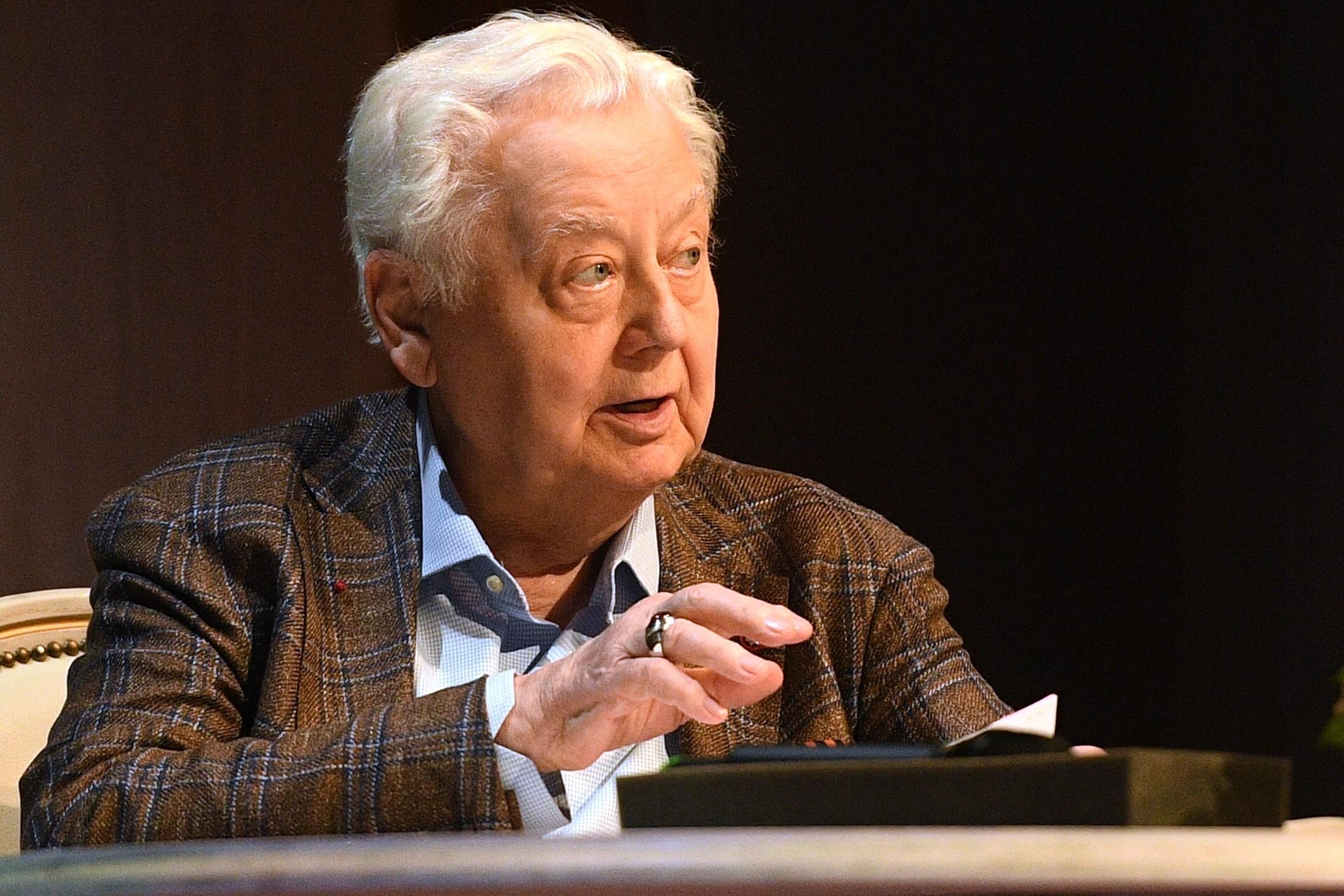 <p>Олег Табаков. Фото: &copy;РИА Новости/Владимир Астапкович</p>