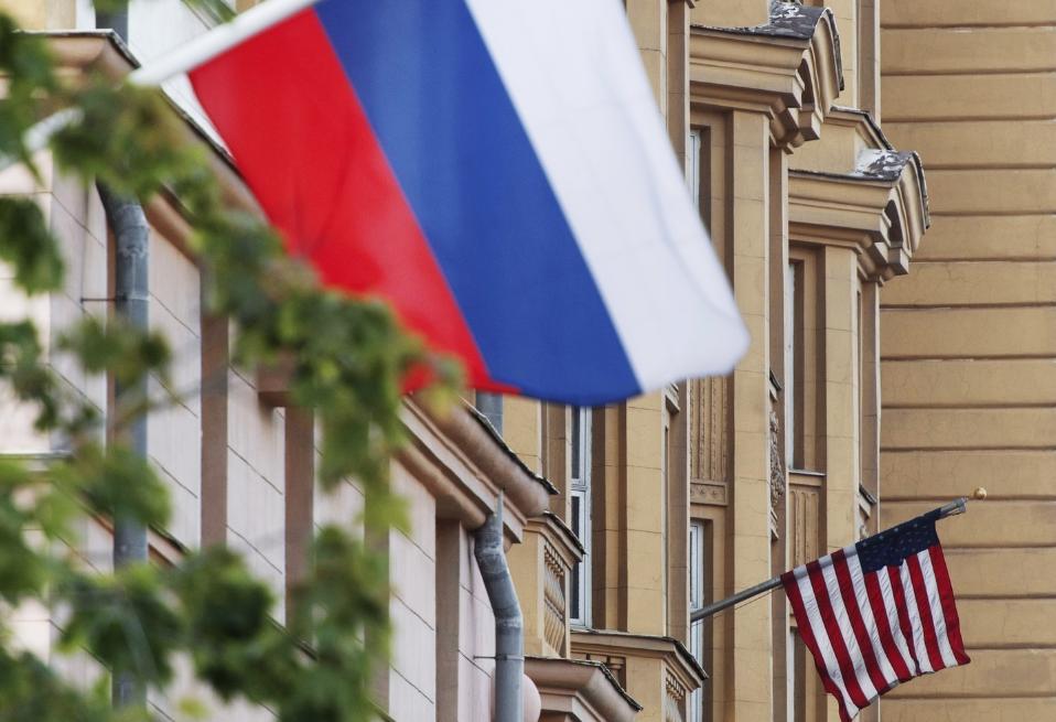 <p><span>Флаги России и США. Фото: &copy; РИА Новости/Максим Блинов</span></p>