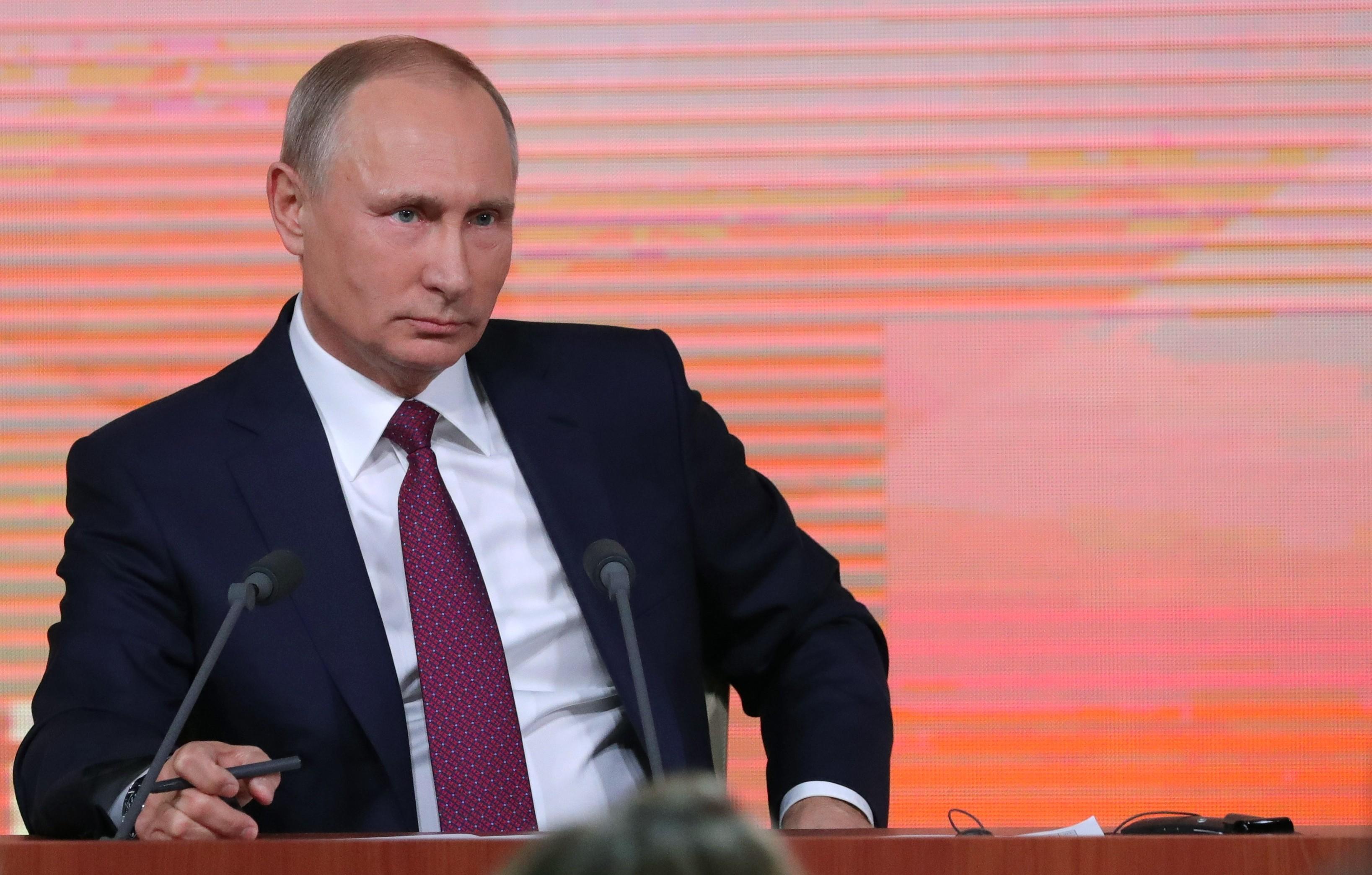 <p><span>Президент РФ Владимир Путин.&nbsp;Фото &copy; РИА Новости/Михаил Климентьев</span></p>