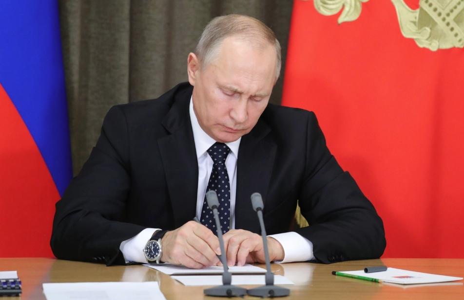 <p><span>Президент РФ Владимир Путин. Фото: &copy;РИА Новости/Михаил Климентьев</span></p>