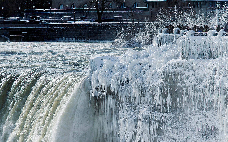 <p><span>Ниагарский водопад.&nbsp;</span>Фото:&nbsp;&copy; &nbsp;REUTERS/Aaron Lynett</p>