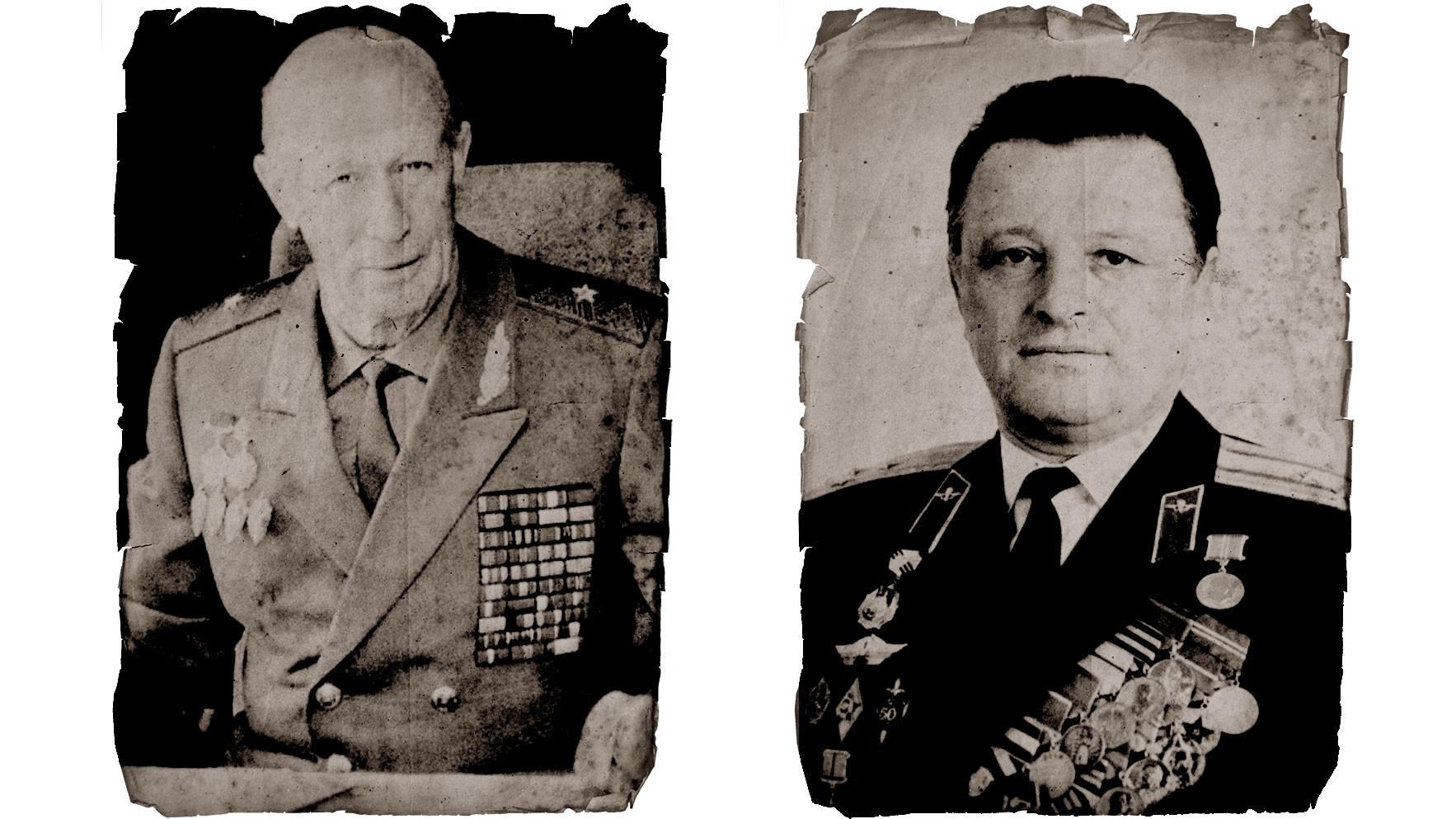 Слева направо: генерал-майор СССР Юрий Дроздов и полковник КГБ, Герой Советского Союза Григорий Бояринов. Фото: © Wikipedia.org Creative Commons