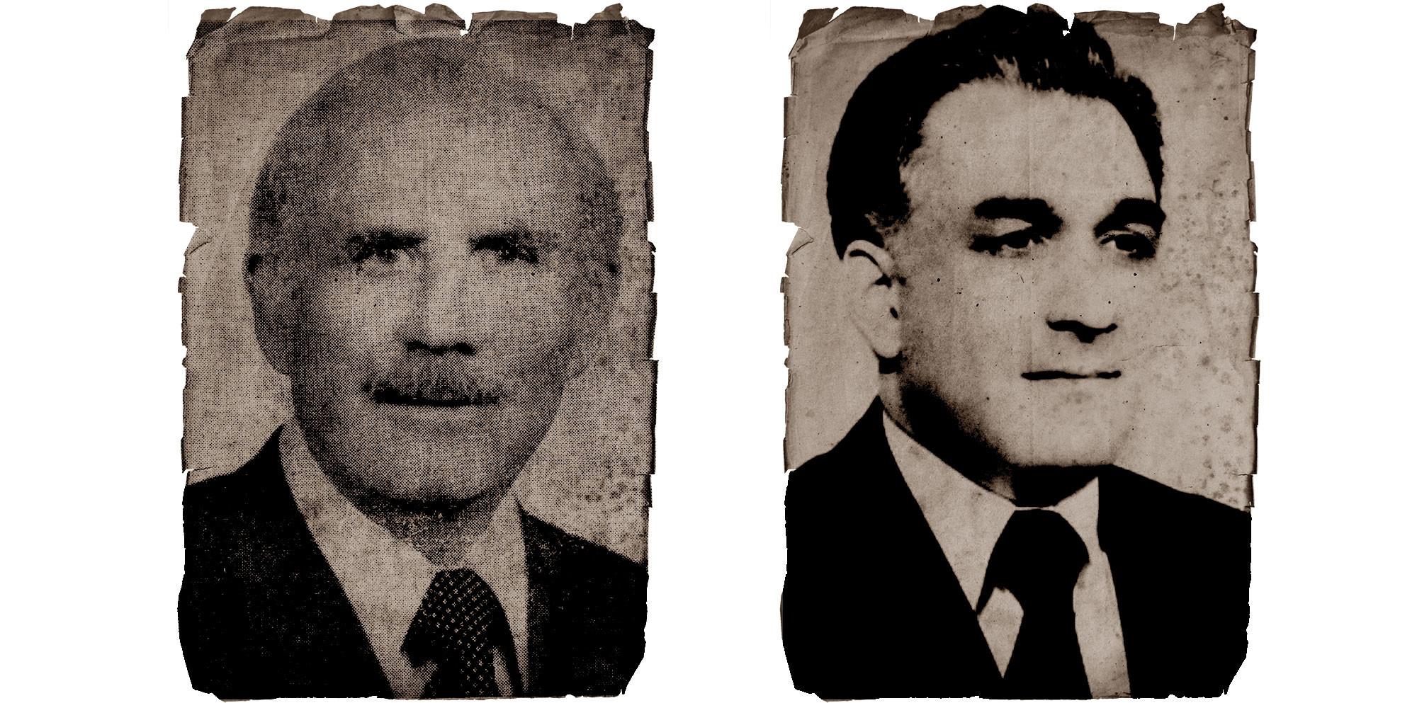 Слева направо: Нур Мухаммада Тараки и Амин Хафизулла. Фото: © Wikipedia.org Creative Commons