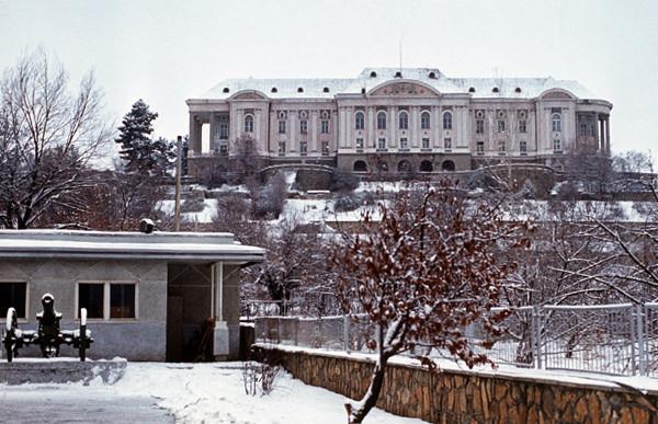 Дворец Тадж-Бек до обстрела. Фото: © Wikipedia.org
