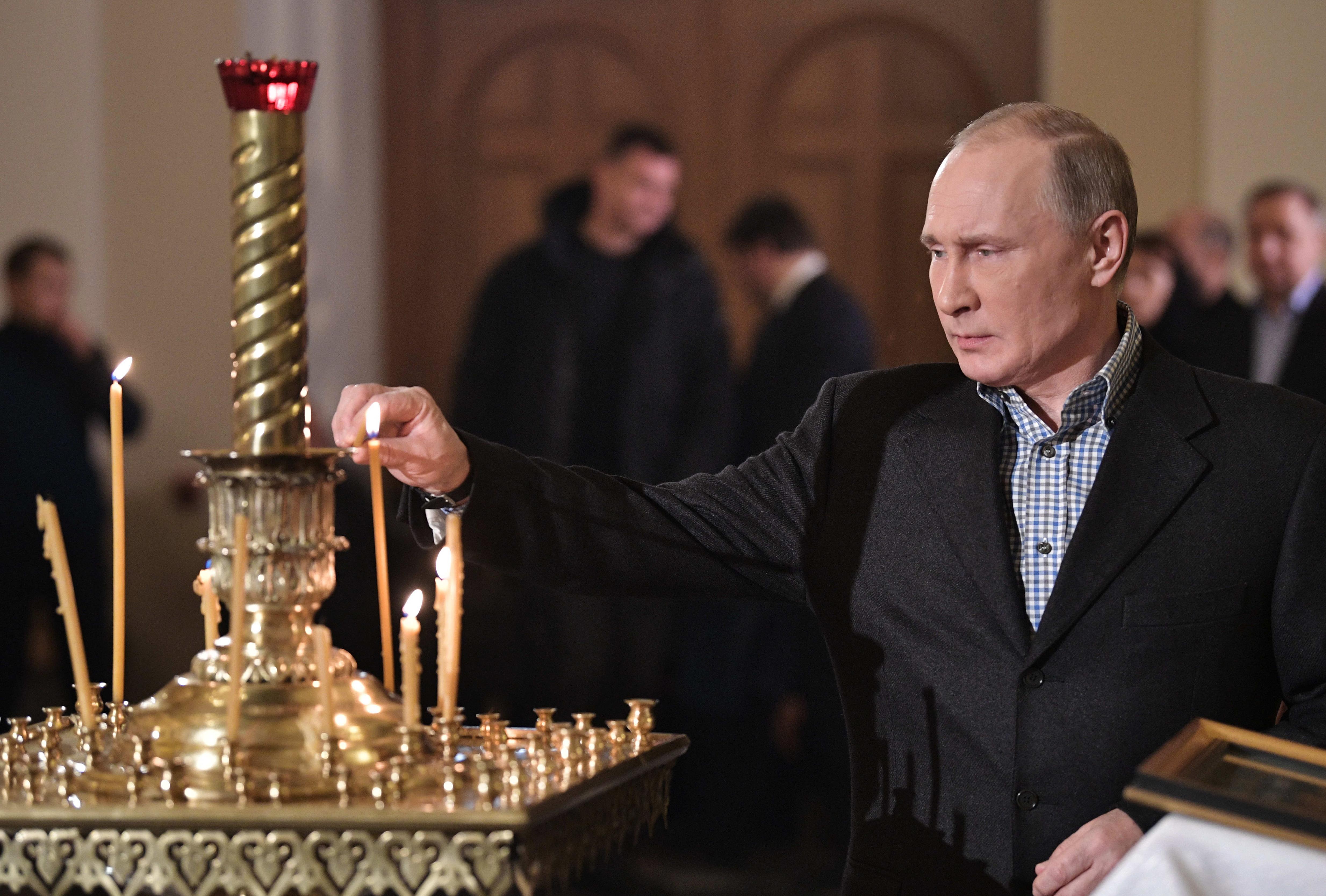 <p>Президент России Владимир Путин. Фото: &copy; РИА Новости/Алексей Никольский</p>