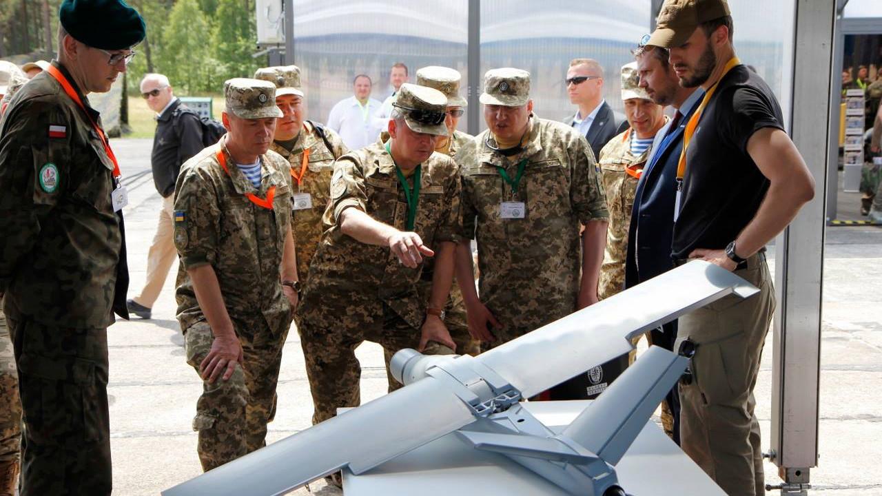 Малый беспилотный летательный аппарат Warmate. Фото: © facebook.com/WB ELECTRONICS