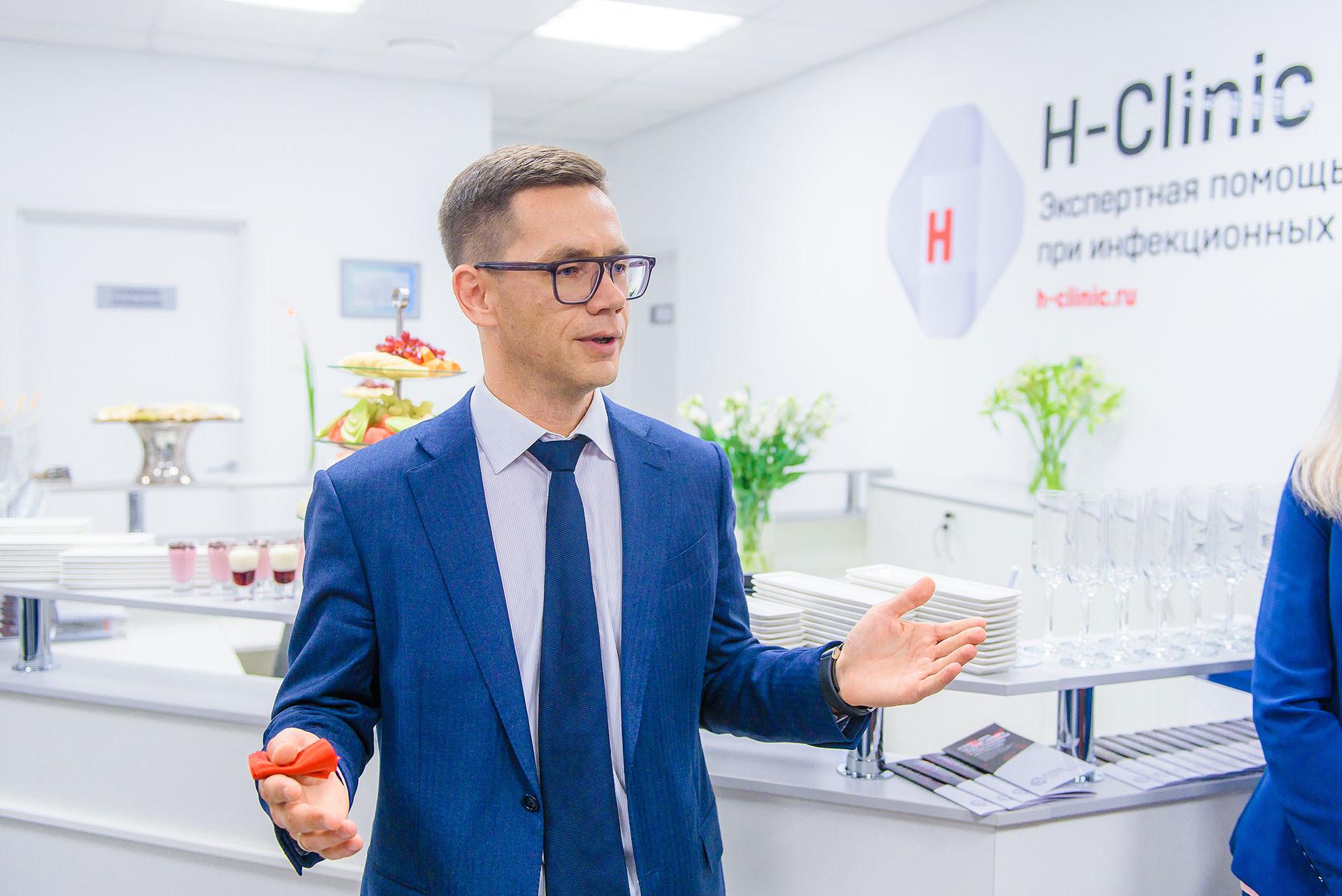 Генеральный директор H-Clinic Андрей Злобин. Фото: © H-Clinic