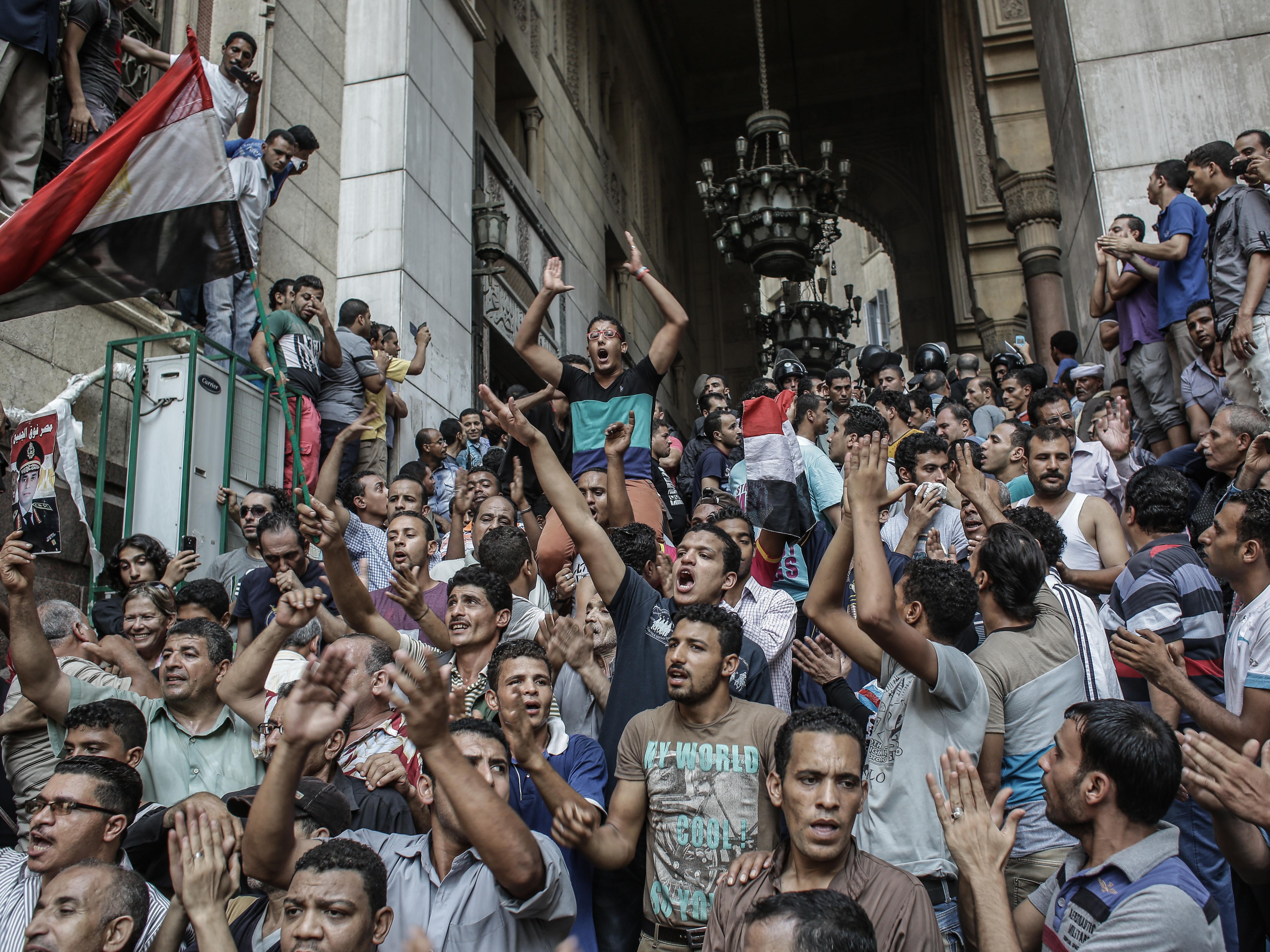 <p>Демонстрация в Каире в 2013 году. Фото: &copy; РИА Новости/Андрей Стенин</p>