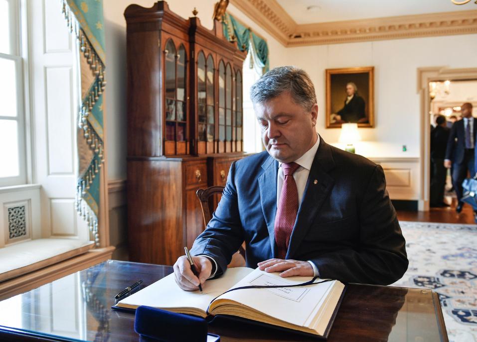 <p><span>Президент Украины Пётр Порошенко. Фото: &copy; РИА Новости/Николай Лазаренко</span></p>