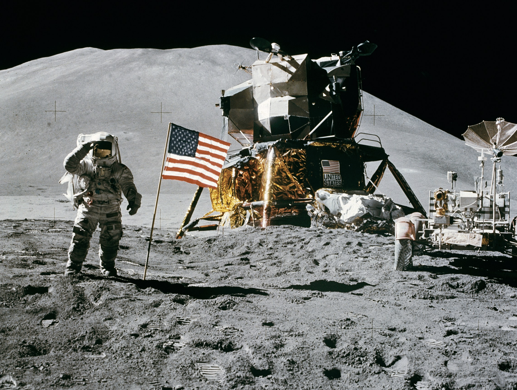 <p>Фото &copy;&nbsp;<span>David R. Scott/NASA</span></p>