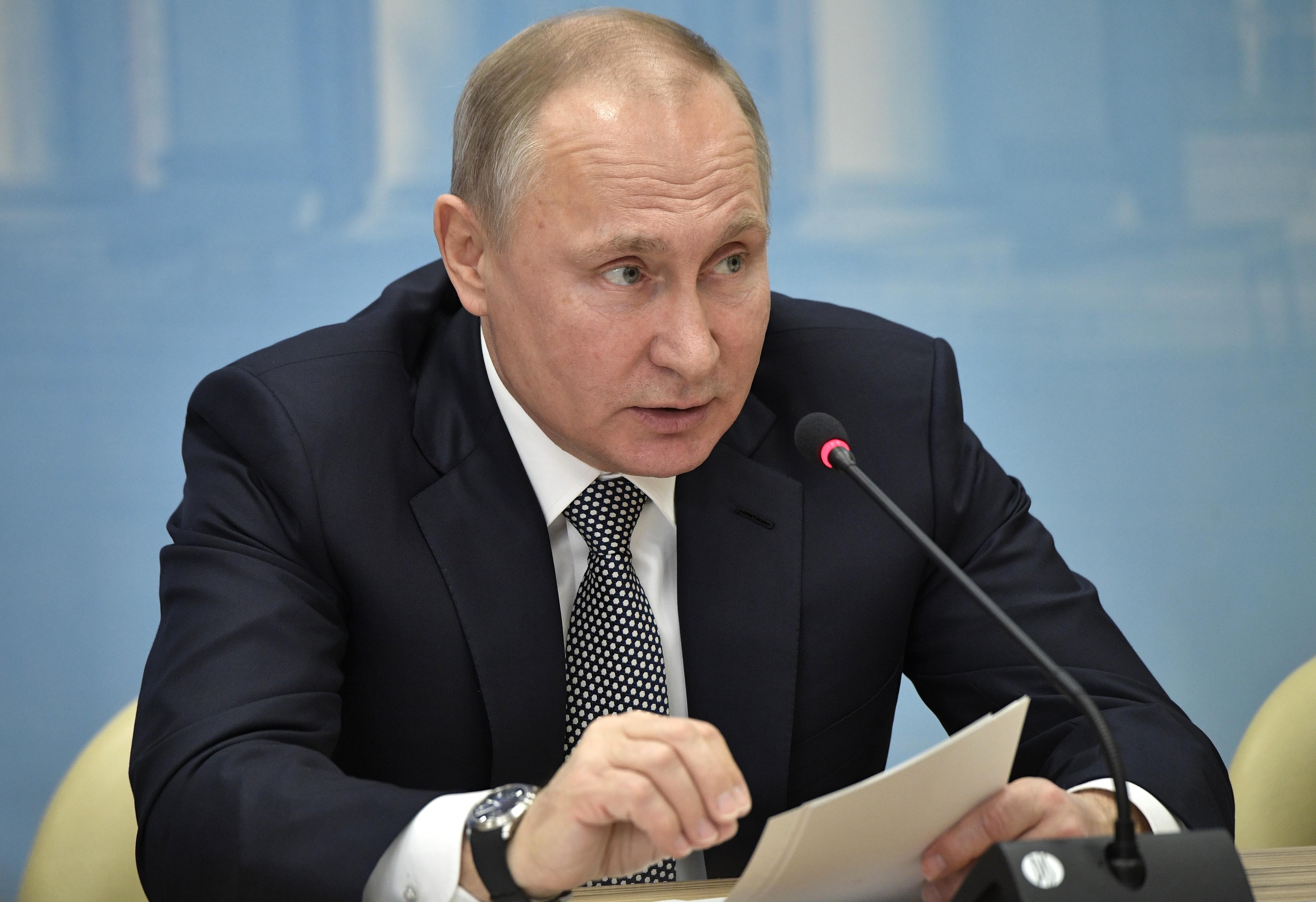 <p>Президент России Владимир Путин. Фото: &copy;РИА Новости/Алексей Никольский&nbsp;</p>