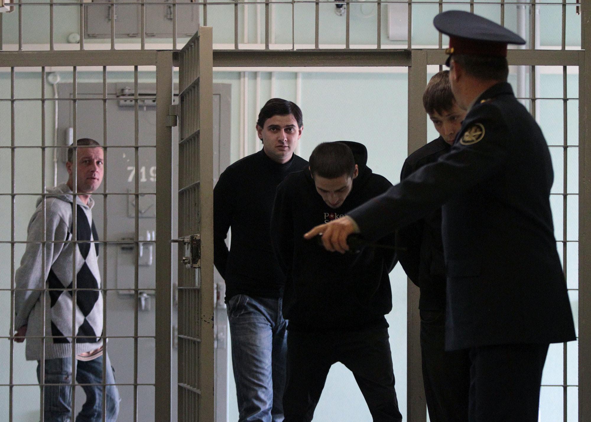 В следственном изоляторе № 4 ФБУ ИЗ- 77/4 УФСИН России по Москве. Фото: © РИА Новости / Валерий Мельников