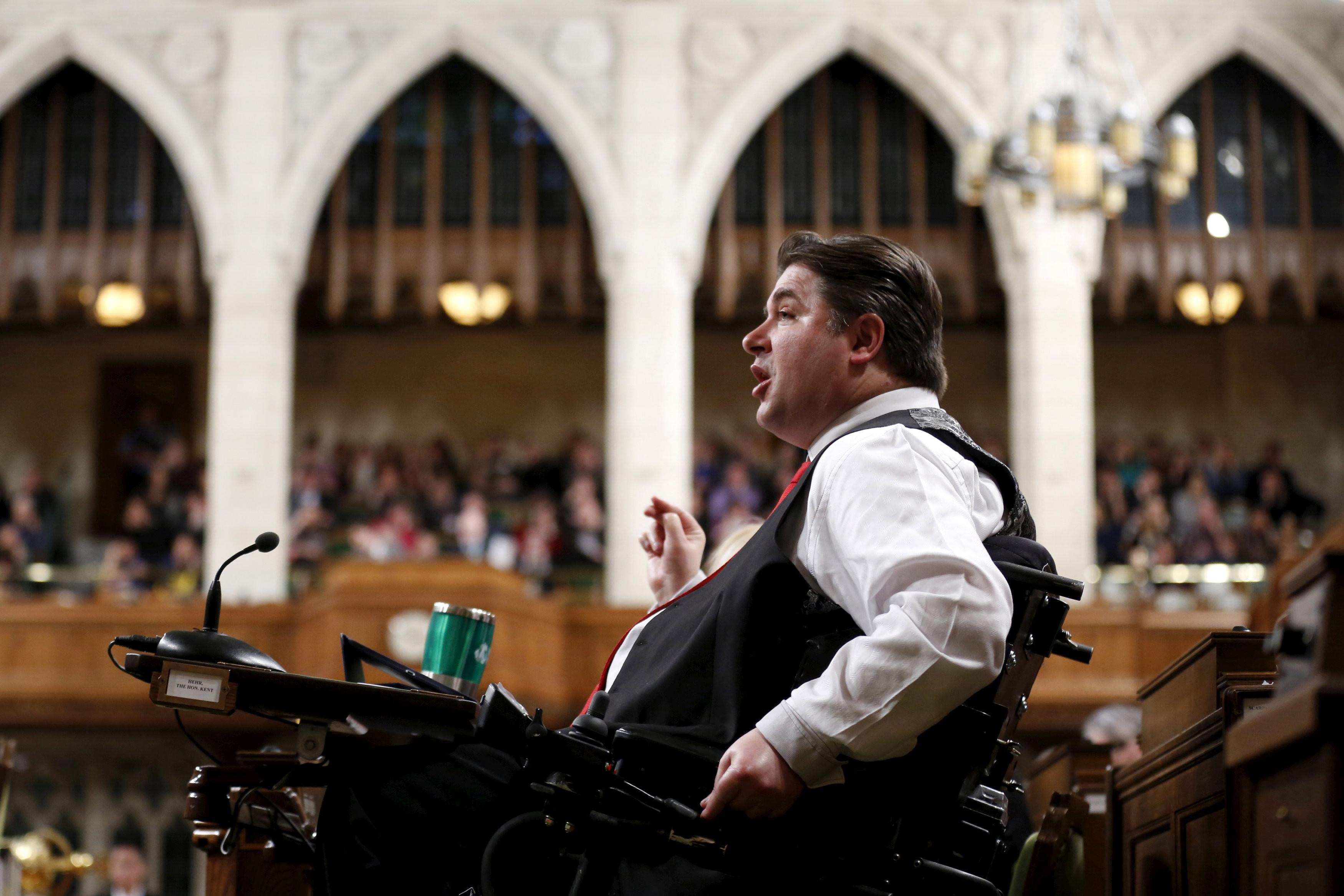 <p>Министр спорта Канады Кент Хейр. Фото: &copy; REUTERS/Chris Wattie</p>