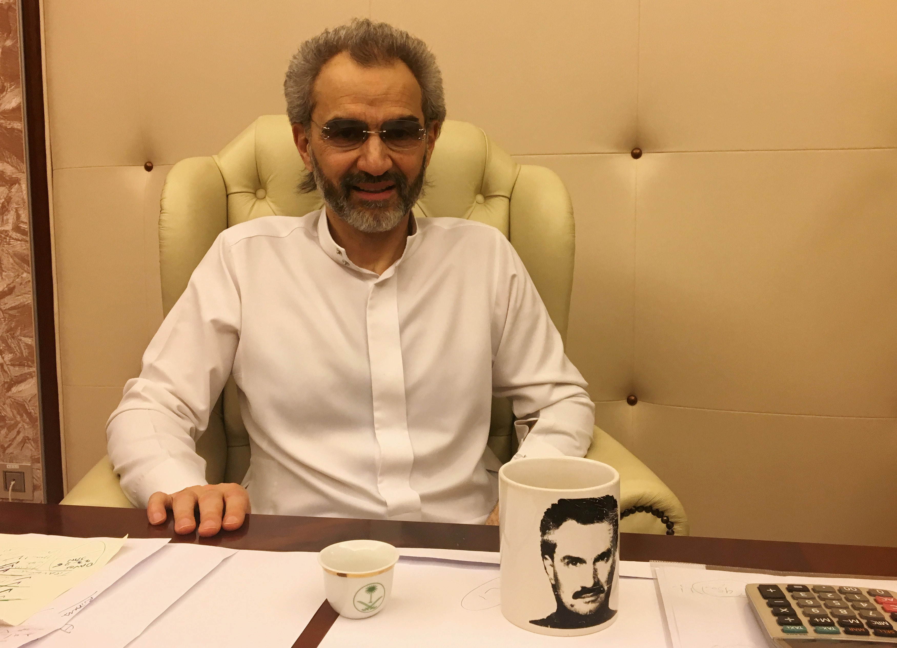 <p><span>Принц Саудовской Аравии, миллиардер Аль-Валид ибн Талал.&nbsp;</span>Фото: &copy;REUTERS/Katie Paul</p>