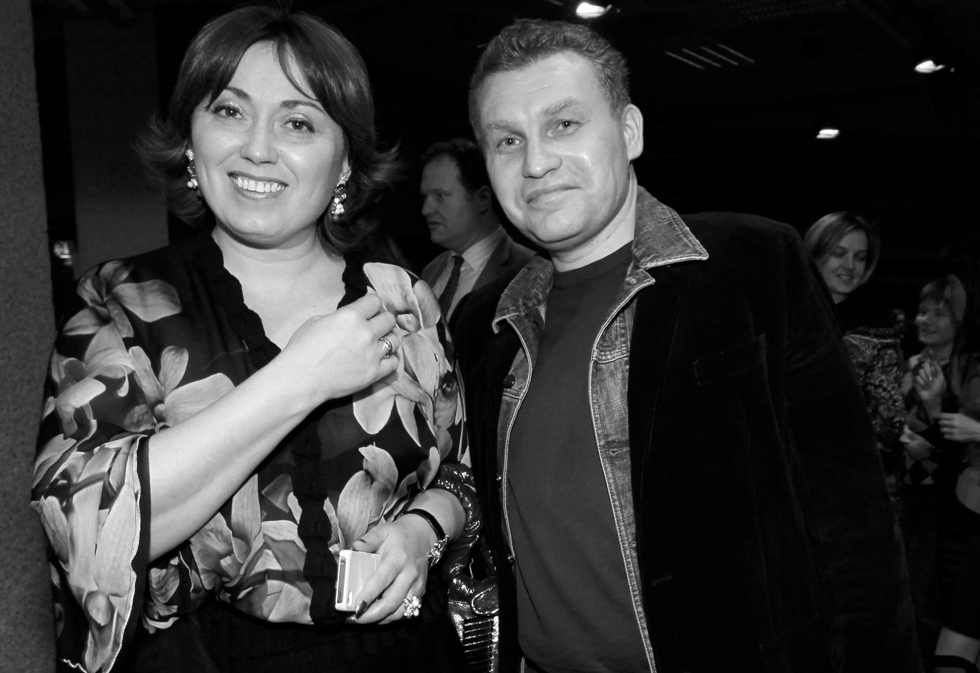 """Бывший владелец холдинга """"Марта"""" Георгий Трефилов с супругой в Лондоне. Фото: ©РИА Новости/Валерий Левитин"""