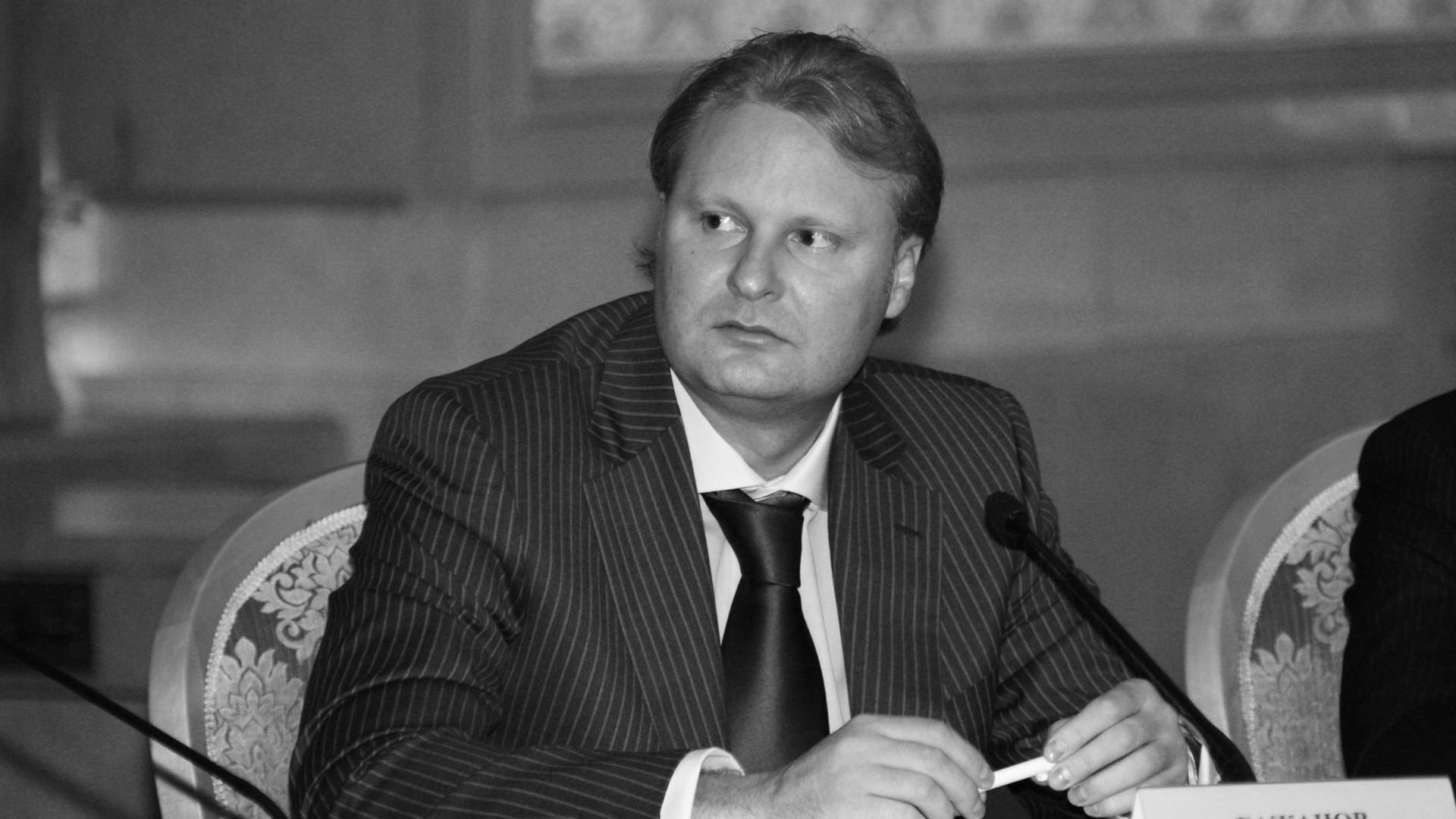 Алексей Бажанов. Фото: ©РИА Новости/Сергей Субботин