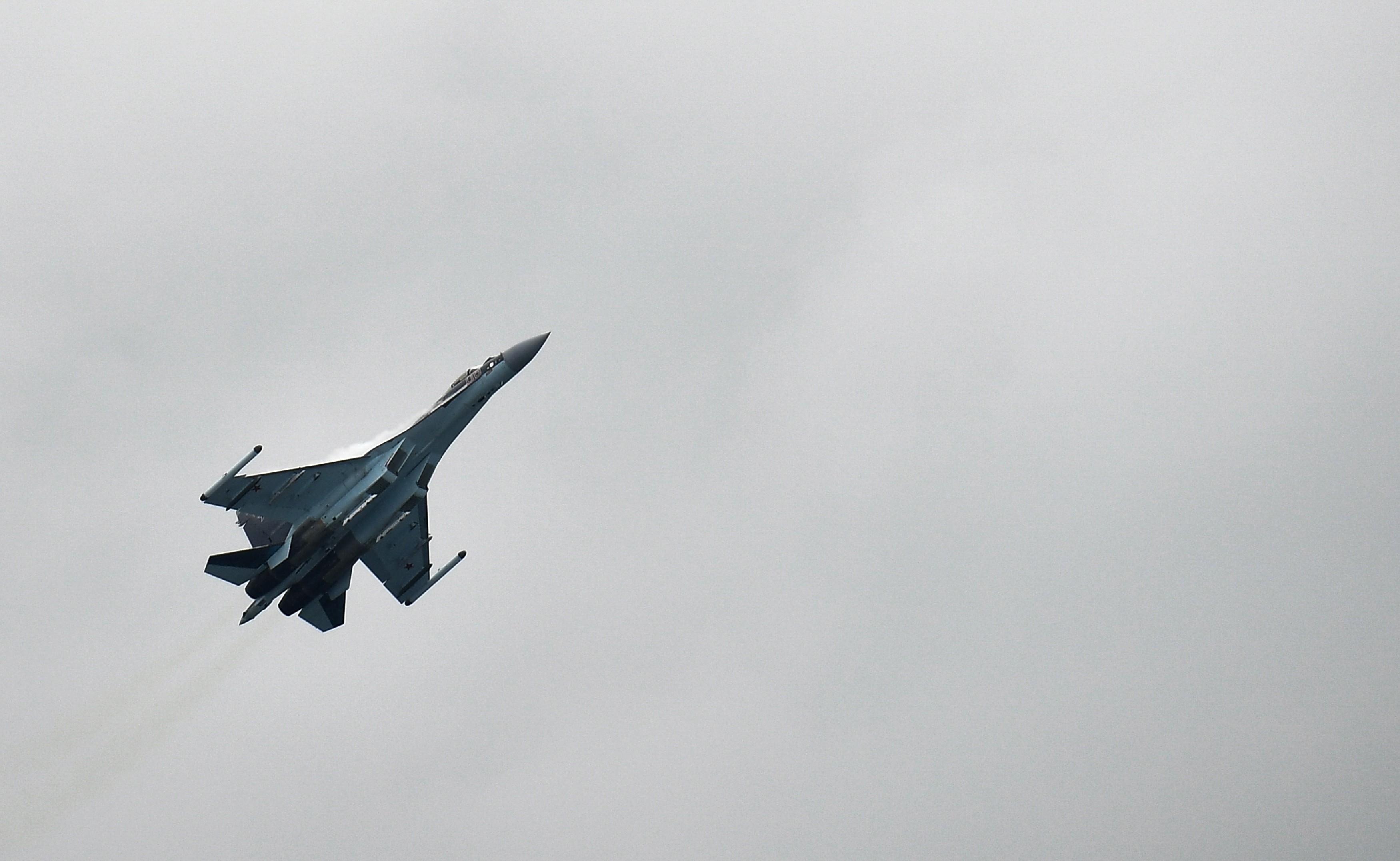 <p>Су-35. Фото: &copy; РИА Новости/Александр Вильф</p>