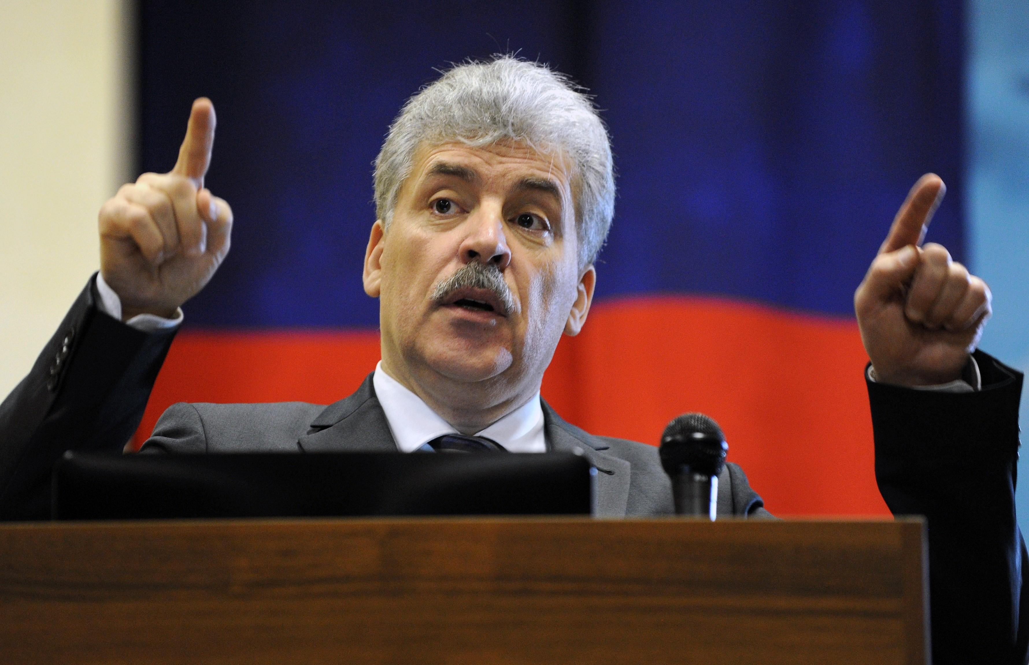 <p>Павел Грудинин. Фото: &copy;РИА Новости/Сергей Пивоваров</p>