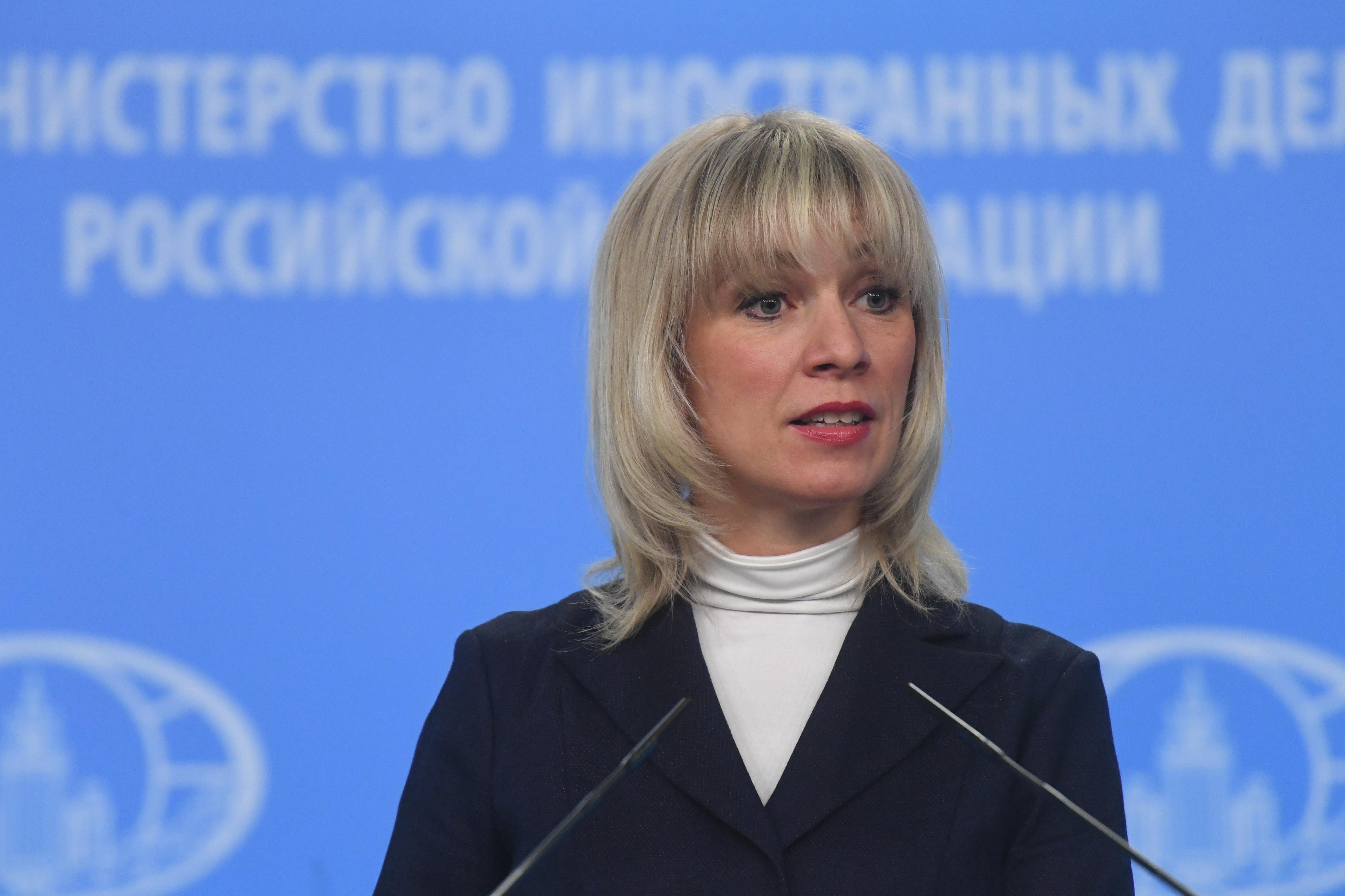 <p>Мария Захарова. Фото: &copy;РИА Новости/Кирилл Каллиников</p>