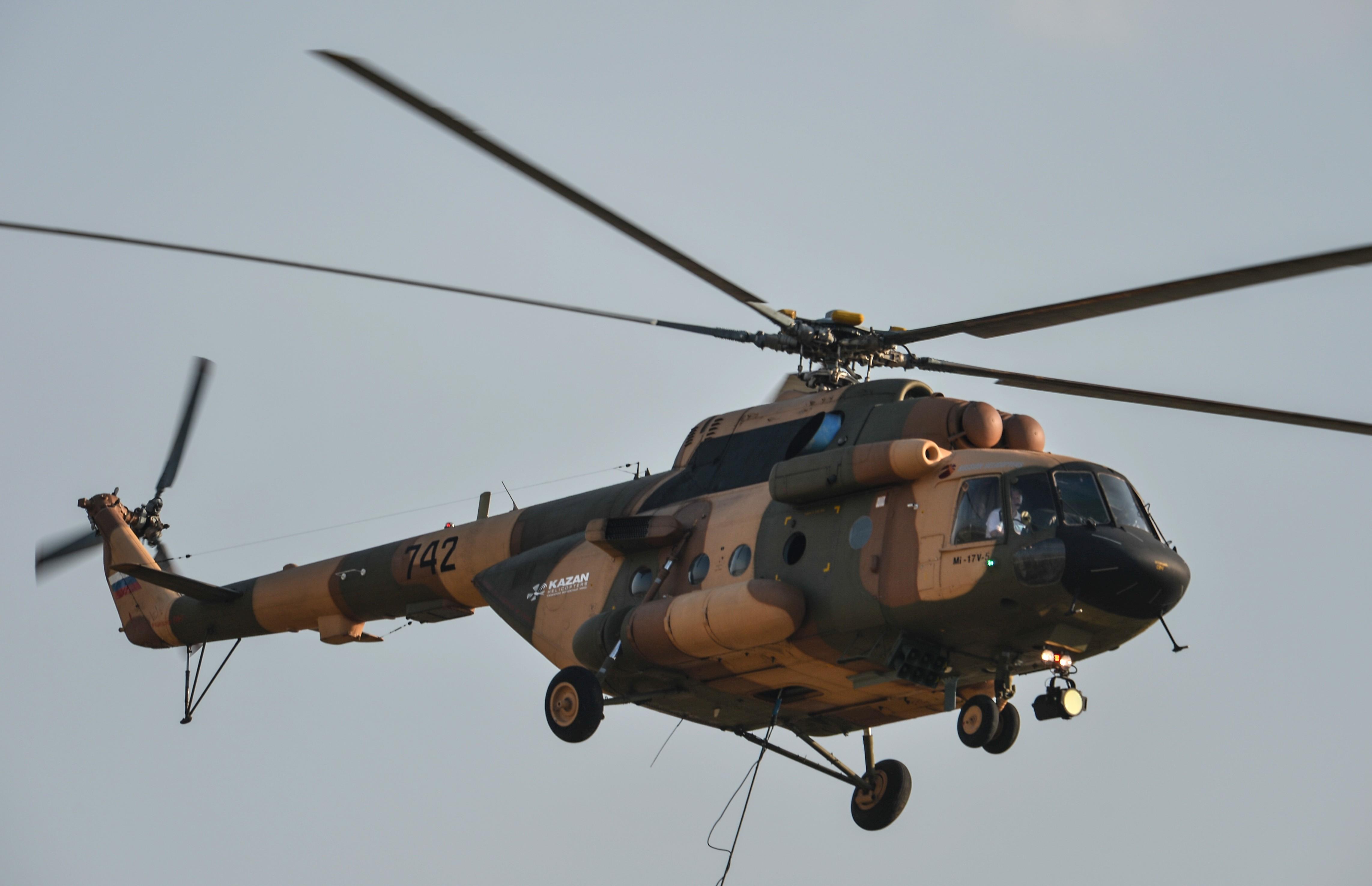 <p>Вертолет Ми-17В-5. Фото: &copy; РИА Новости/Владимир Астапкович</p>