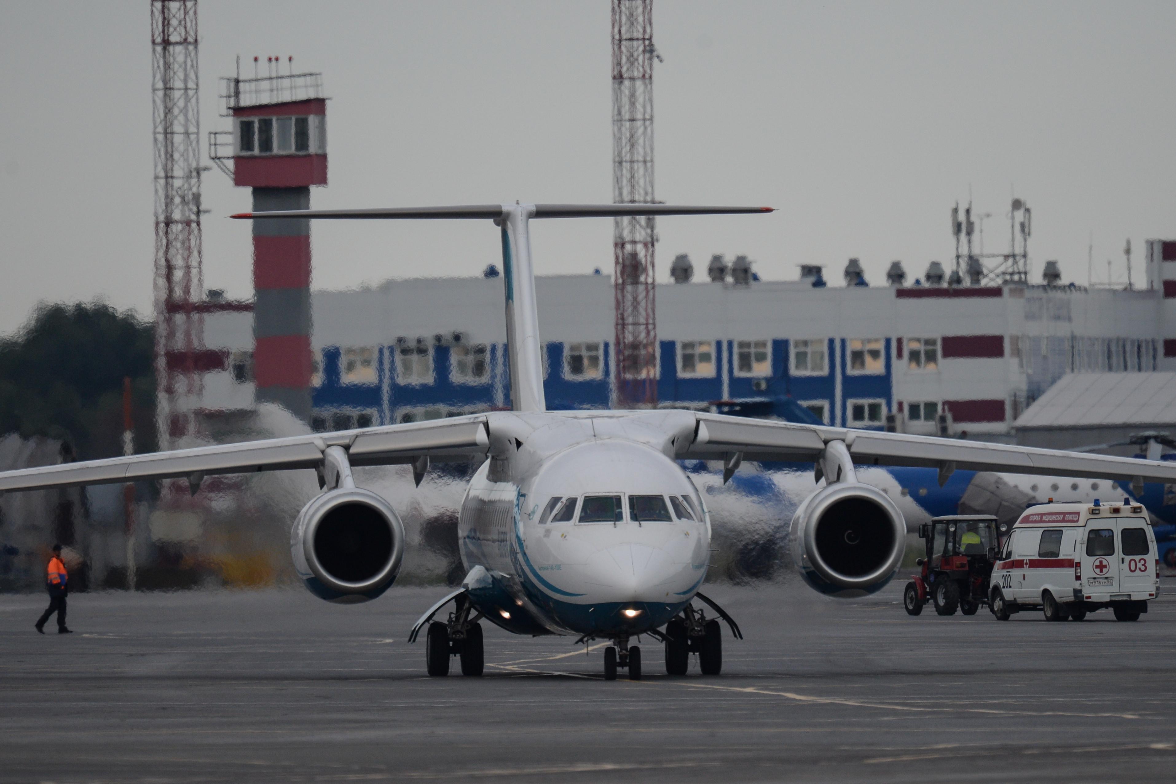 <p>Самолет Ан-148. Фото: &copy;РИА Новости/Александр Кряжев</p>