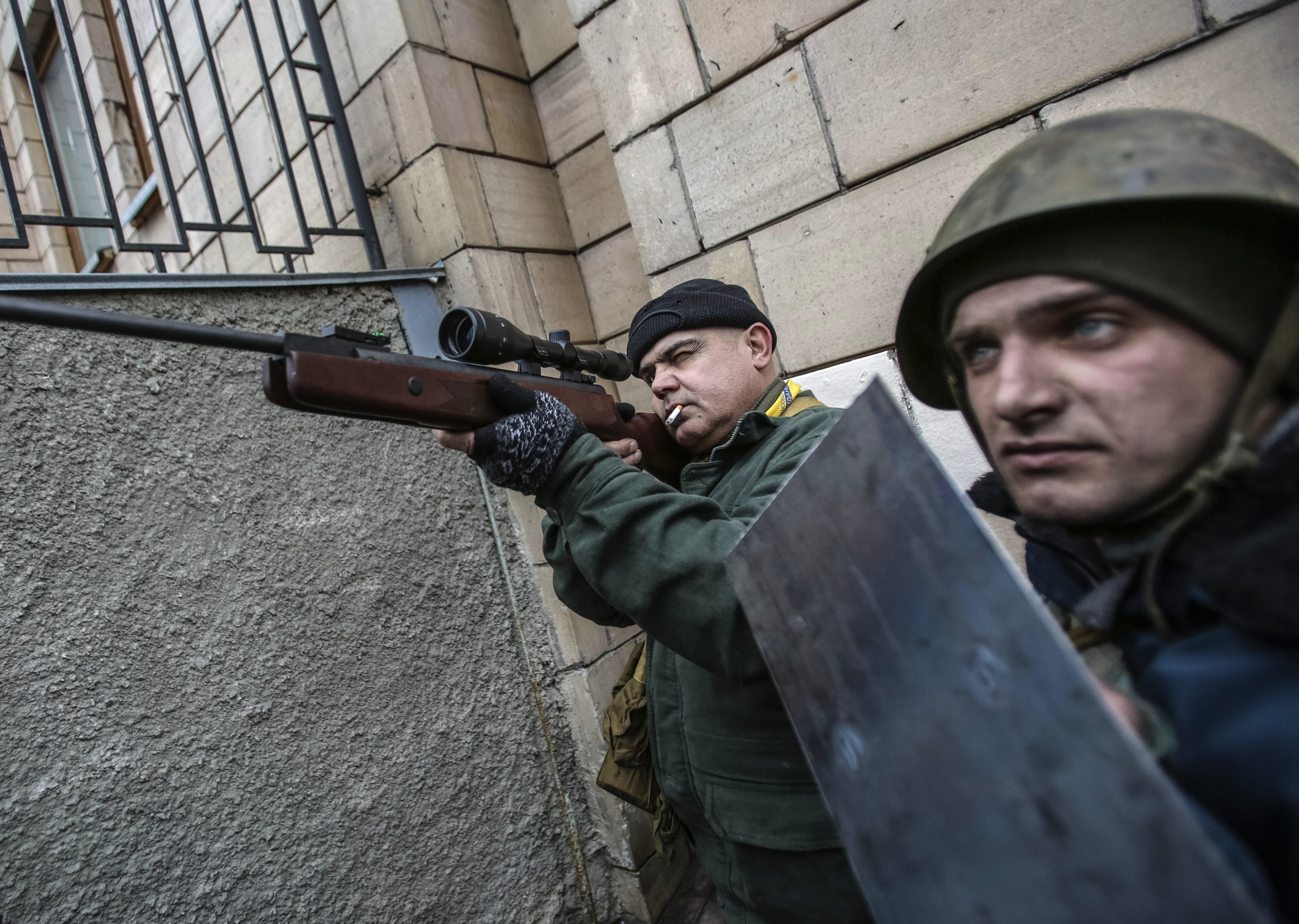 """<p>Протестующие на """"Евромайдане"""" в Киеве в 2014 году. Фото: &copy;РИА Новости/Андрей Стенин</p>"""
