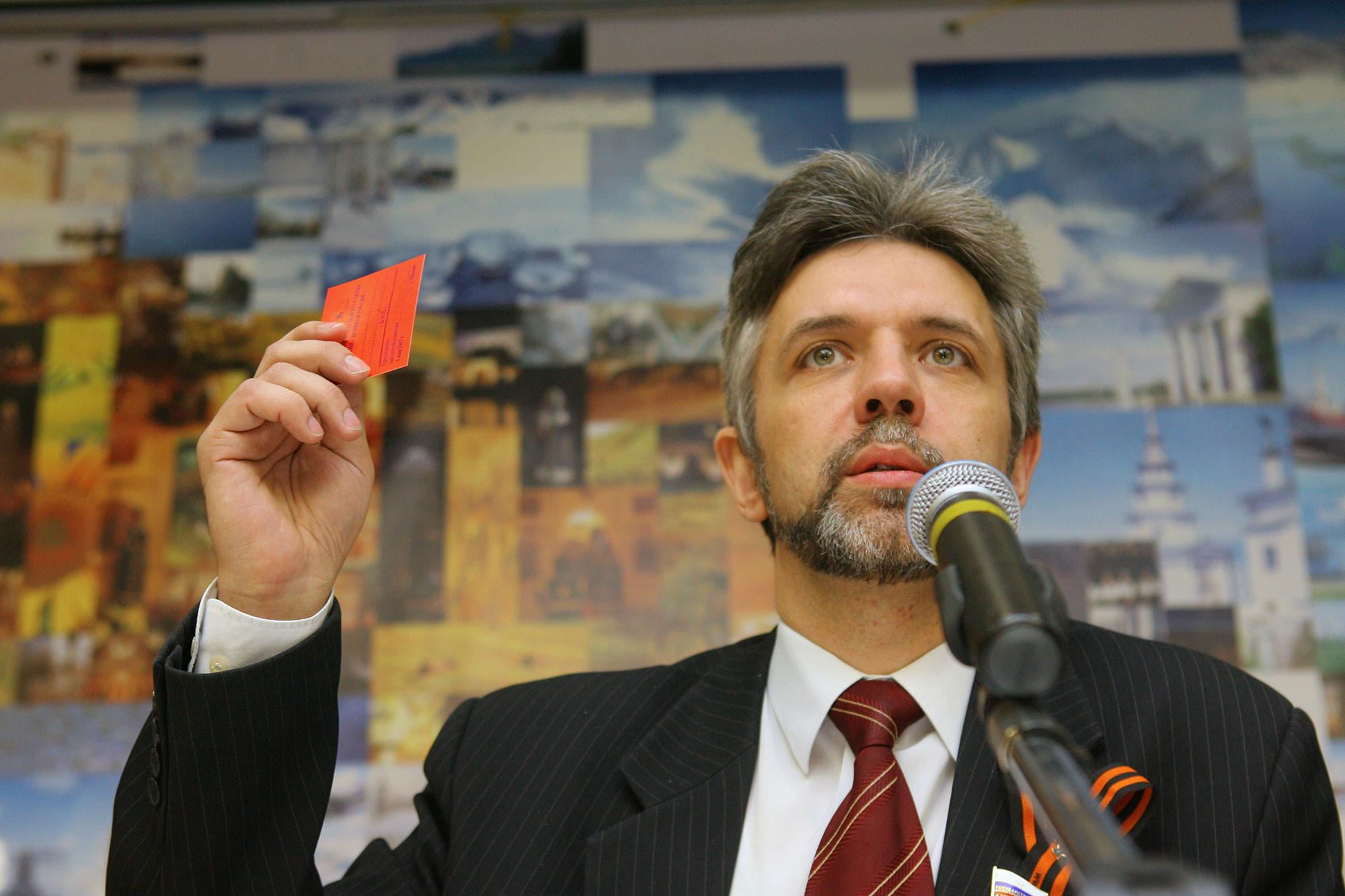 Депутат Андрей Савельев. Фото: © РИА Новости / Илья Питалев