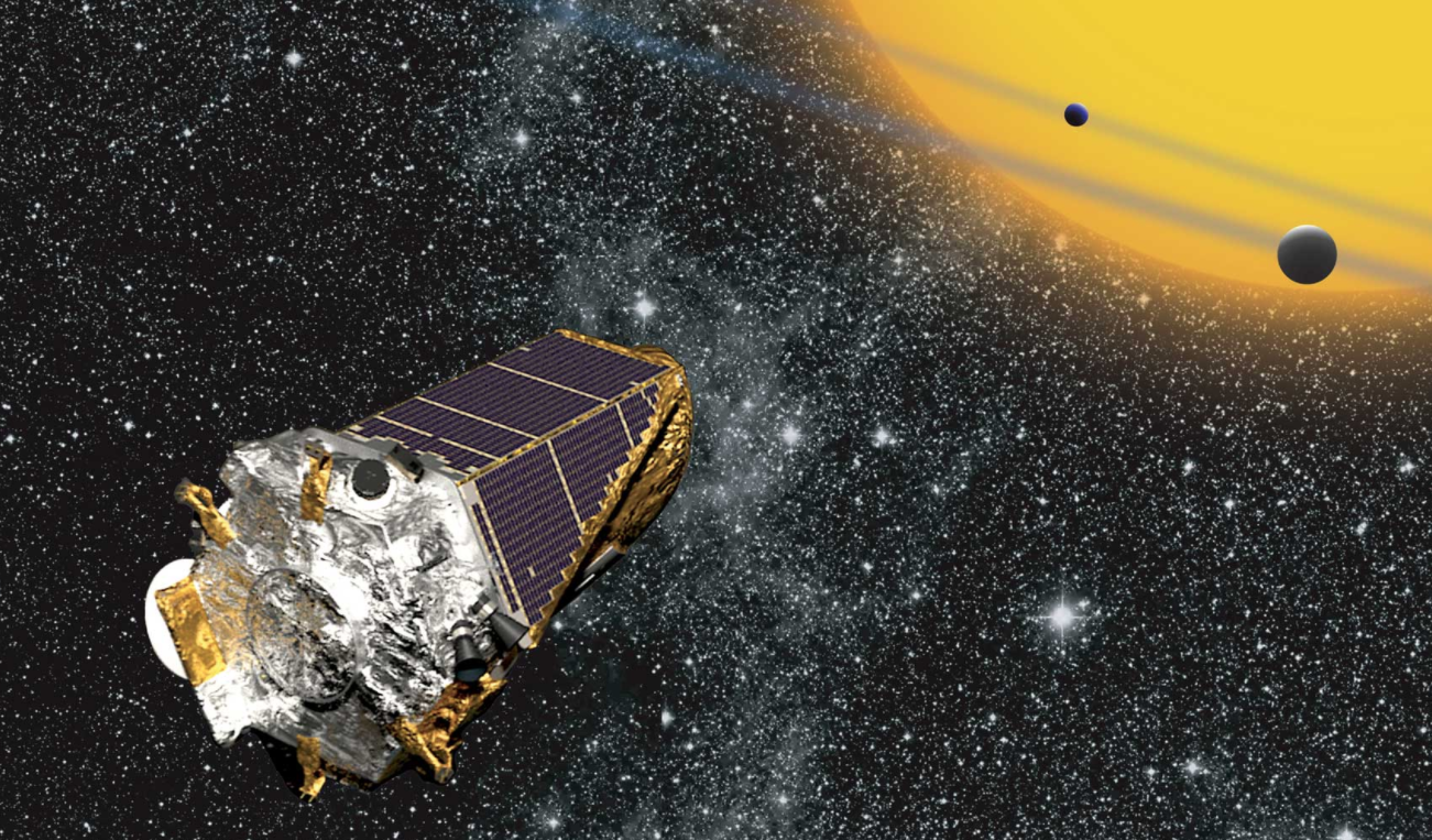 """<p>Космический телескоп Kepler. Фото: &copy; <a href=""""https://en.wikipedia.org/wiki/Kepler_(spacecraft)"""">Википедия</a></p>"""