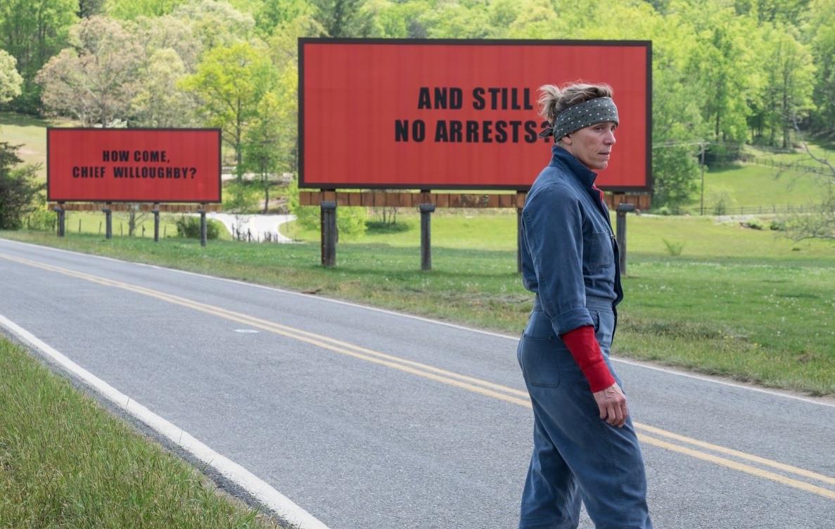 "<p>Кадр из фильма ""Три билборда на границе Эббинга, Миссури"", реж. Мартин Макдонах. Фото: &copy; Kinopoisk</p>"
