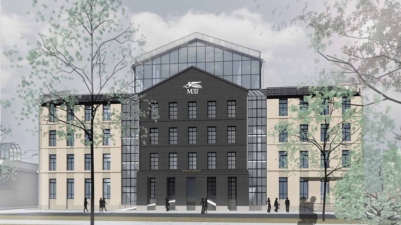 Проект нового здания Малого драматического театра на Звенигородской улице в Санкт-Петербурге. Фото: © mamoshin.com